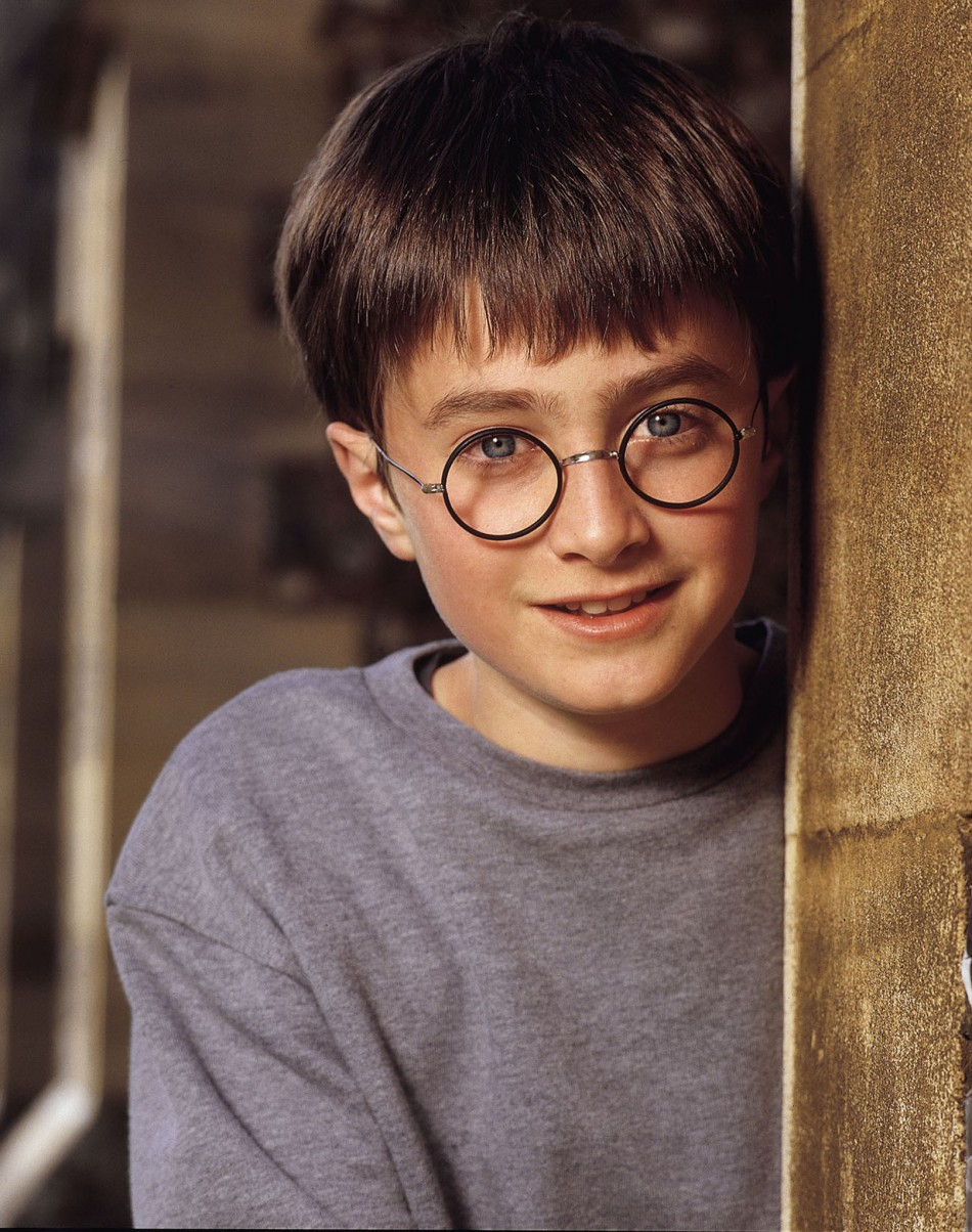 Daniel radcliffe now and then from child to adult for Dans harry potter