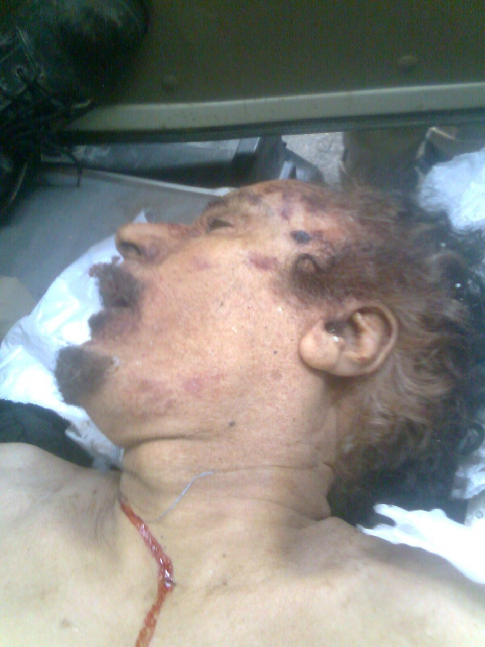 gadhafi joins league of dictators who met with a violent