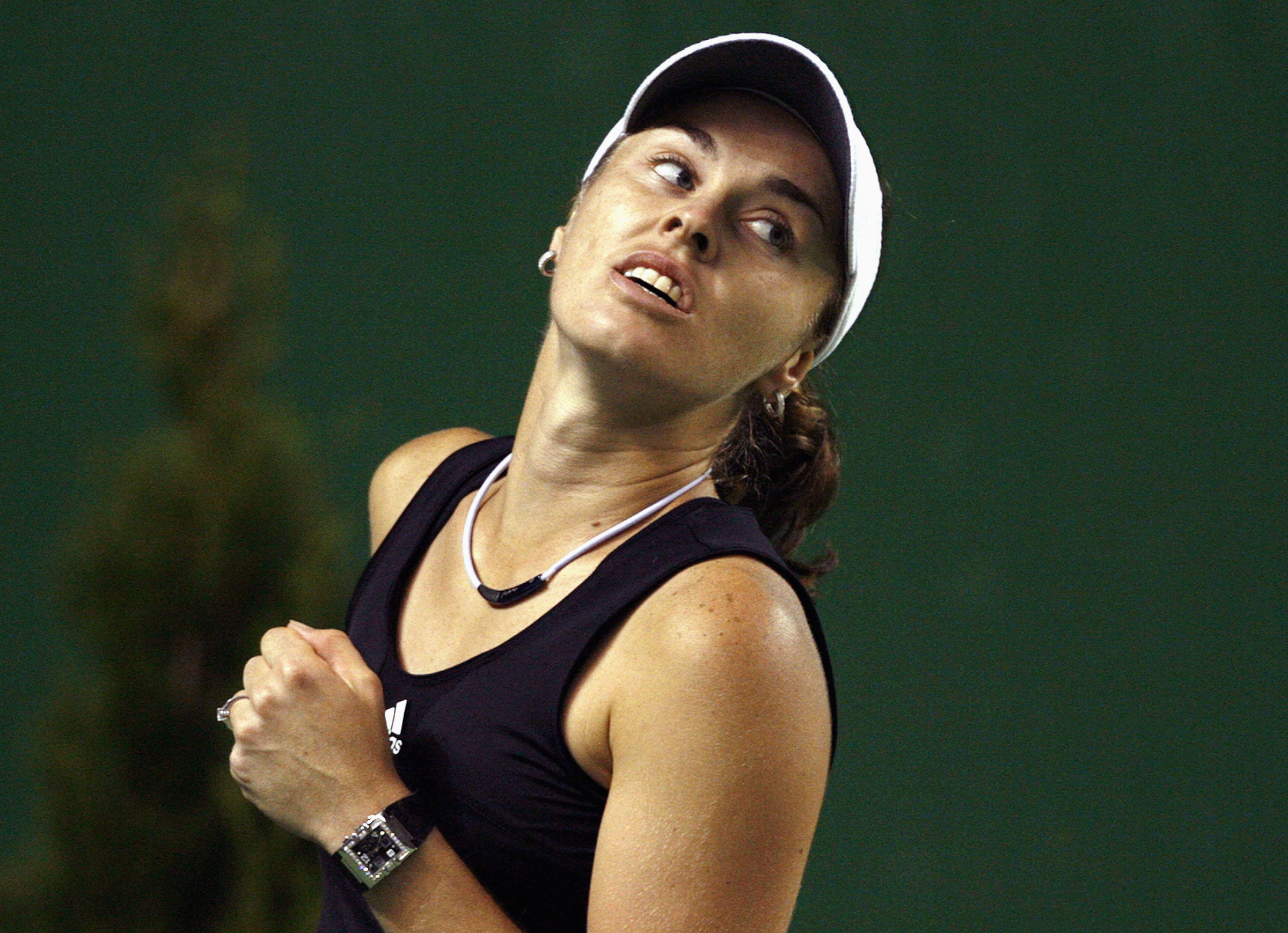 Martina Hingis Makes A Second Return To Tennis By Winning Her