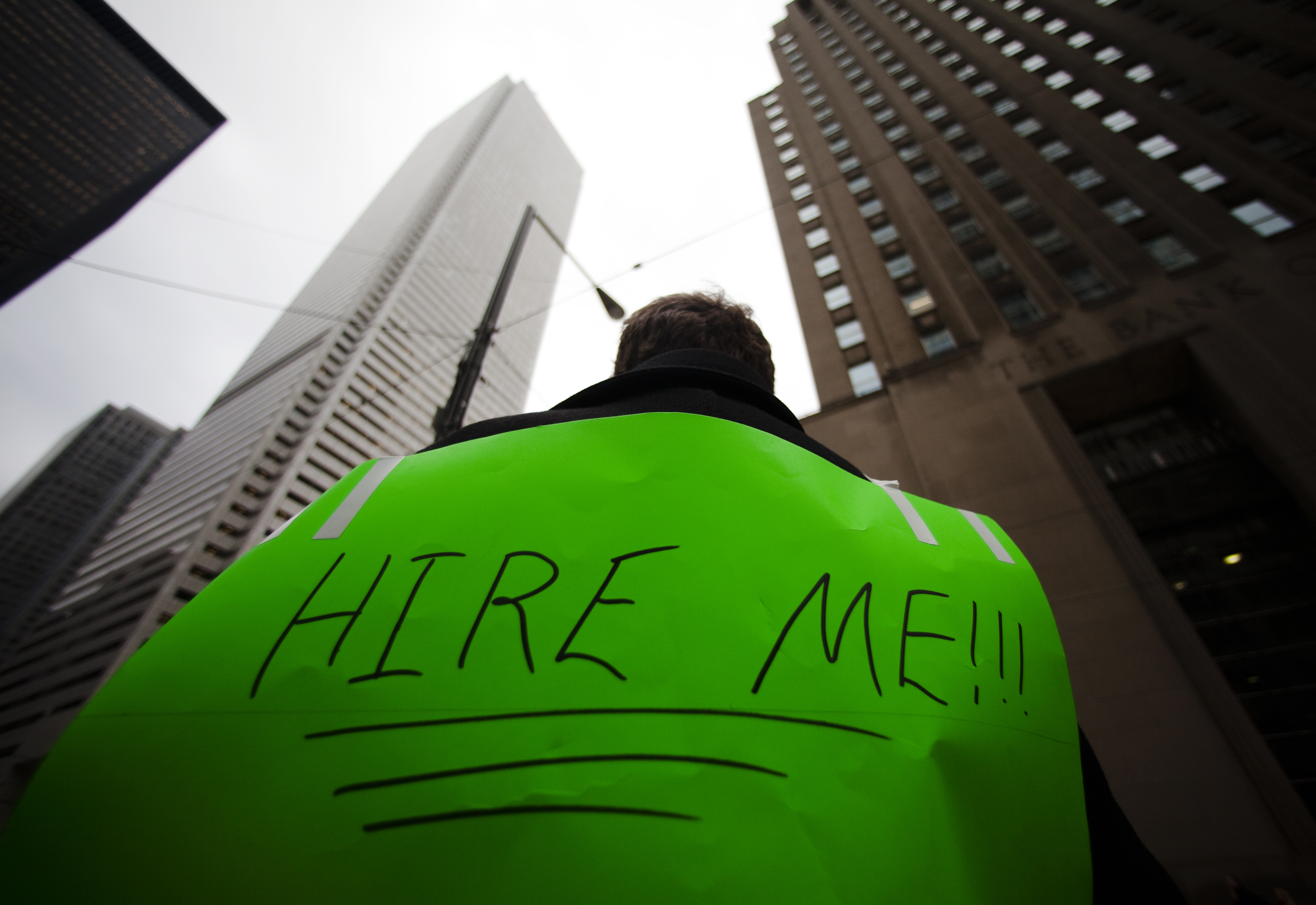 link between long term unemployment and depression poll