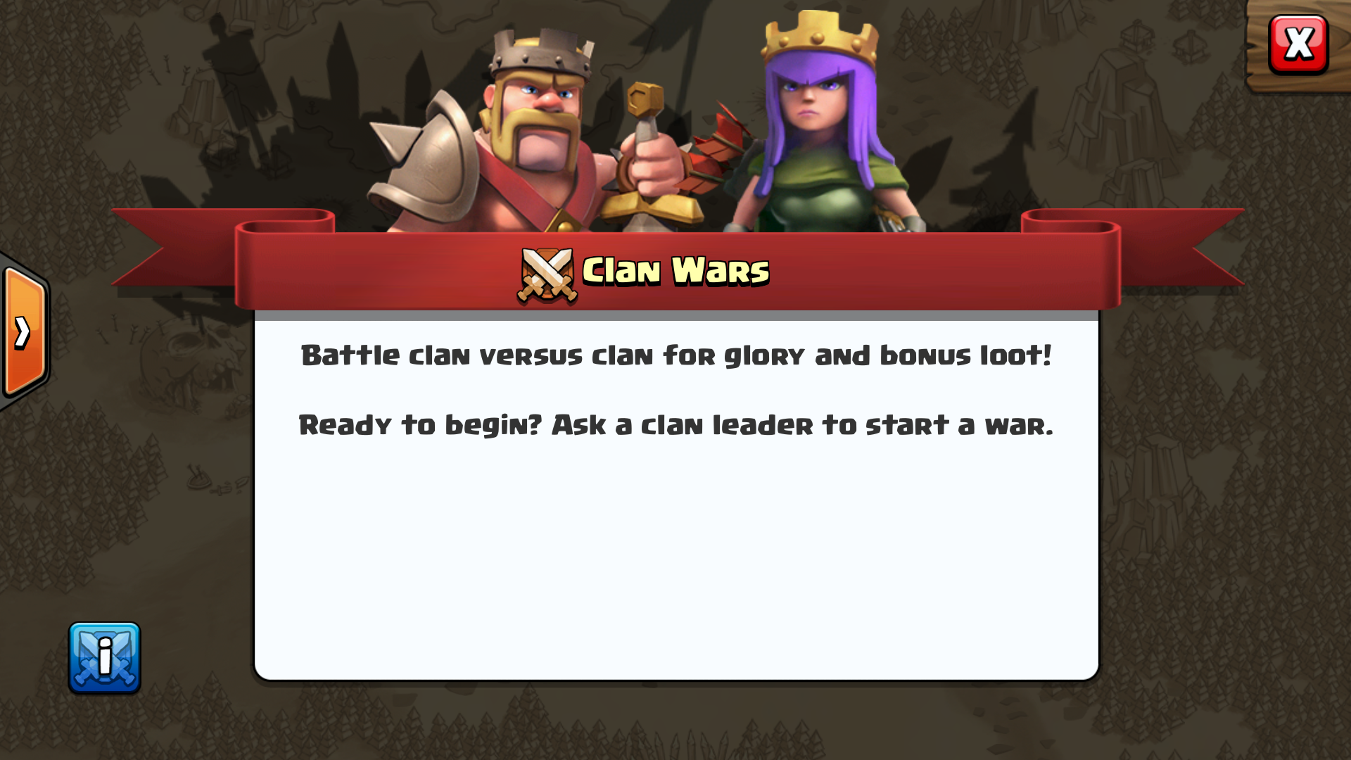 how to go to new kingdom vikings clan war
