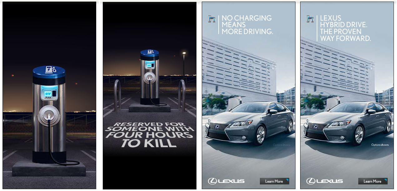 Lexus Advertisement For Hybrid Cars Has Infuriated