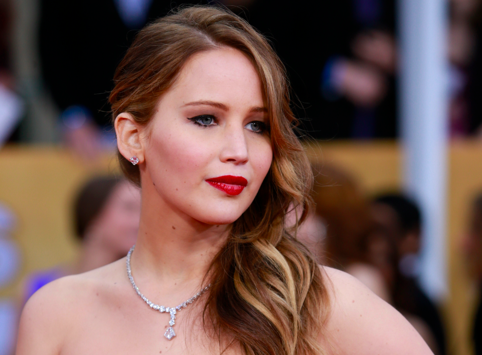 Jennifer Lawrence and Hunger Games co-stars take part in