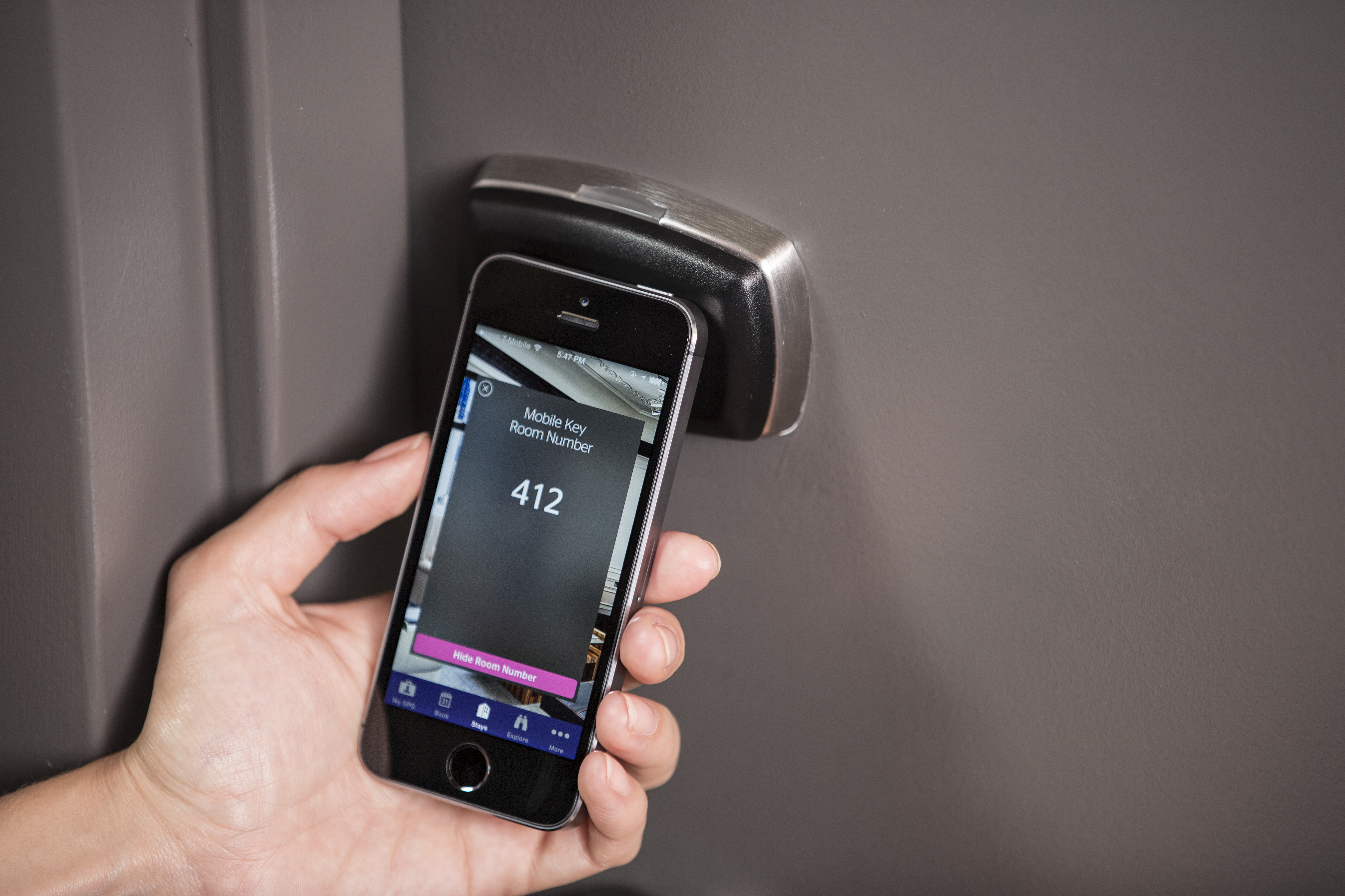 Guests At Starwood Hotels Can Check In Enter Rooms With New
