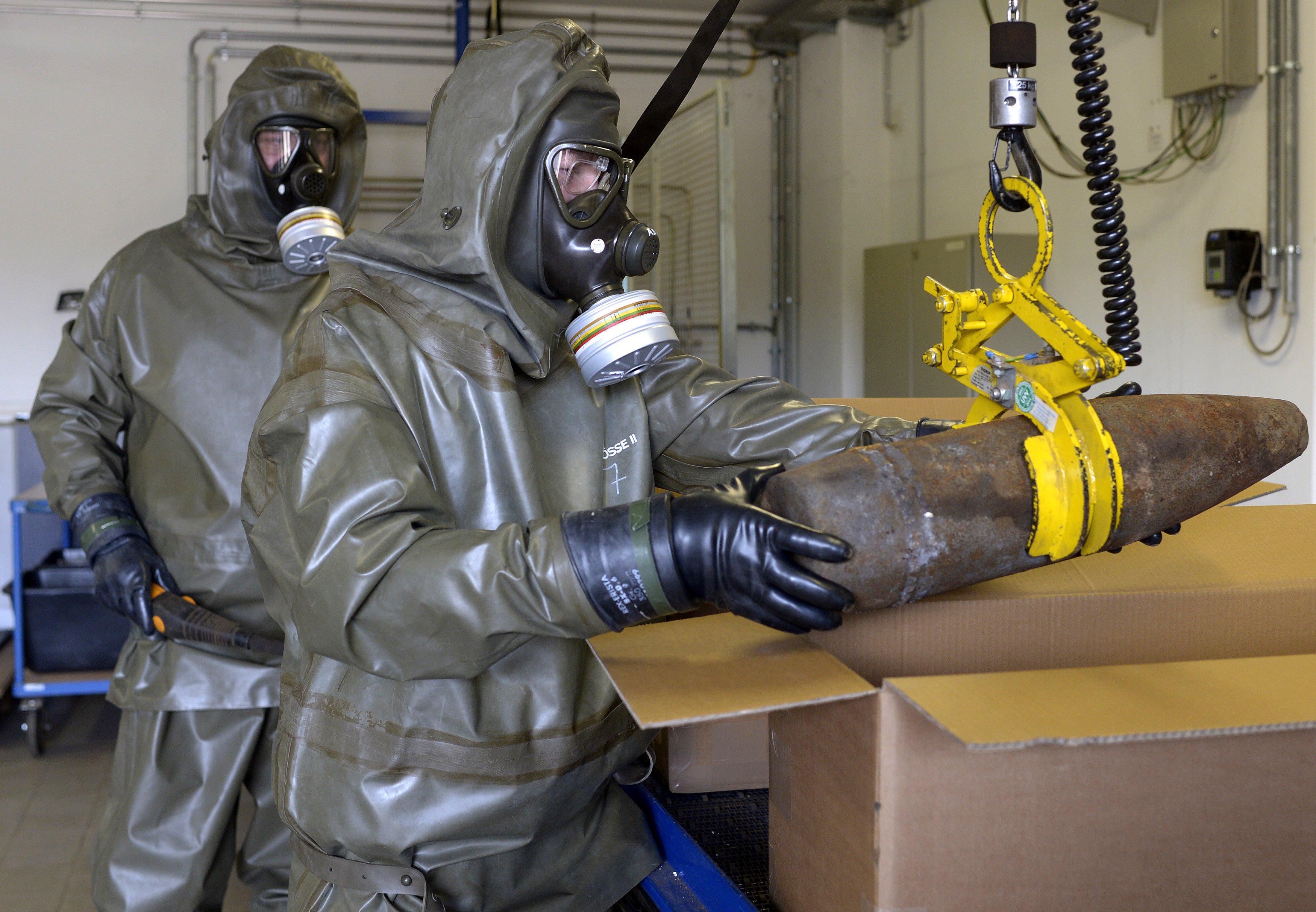 Destruction Of Chemical Weapons Declared By Syrian ...