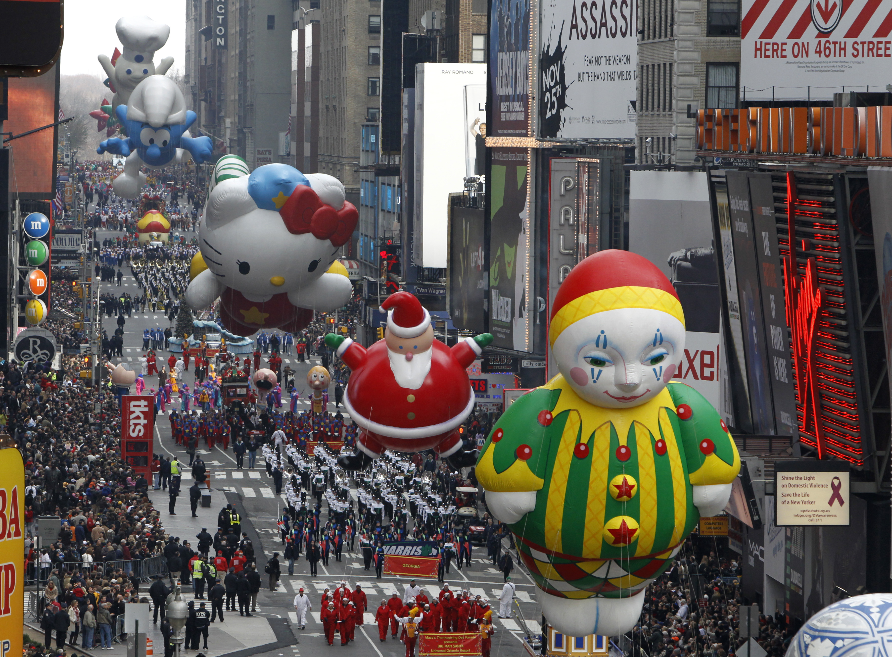 Macy's Thanksgiving Day Parade 2014: Route Map, Start Time ...