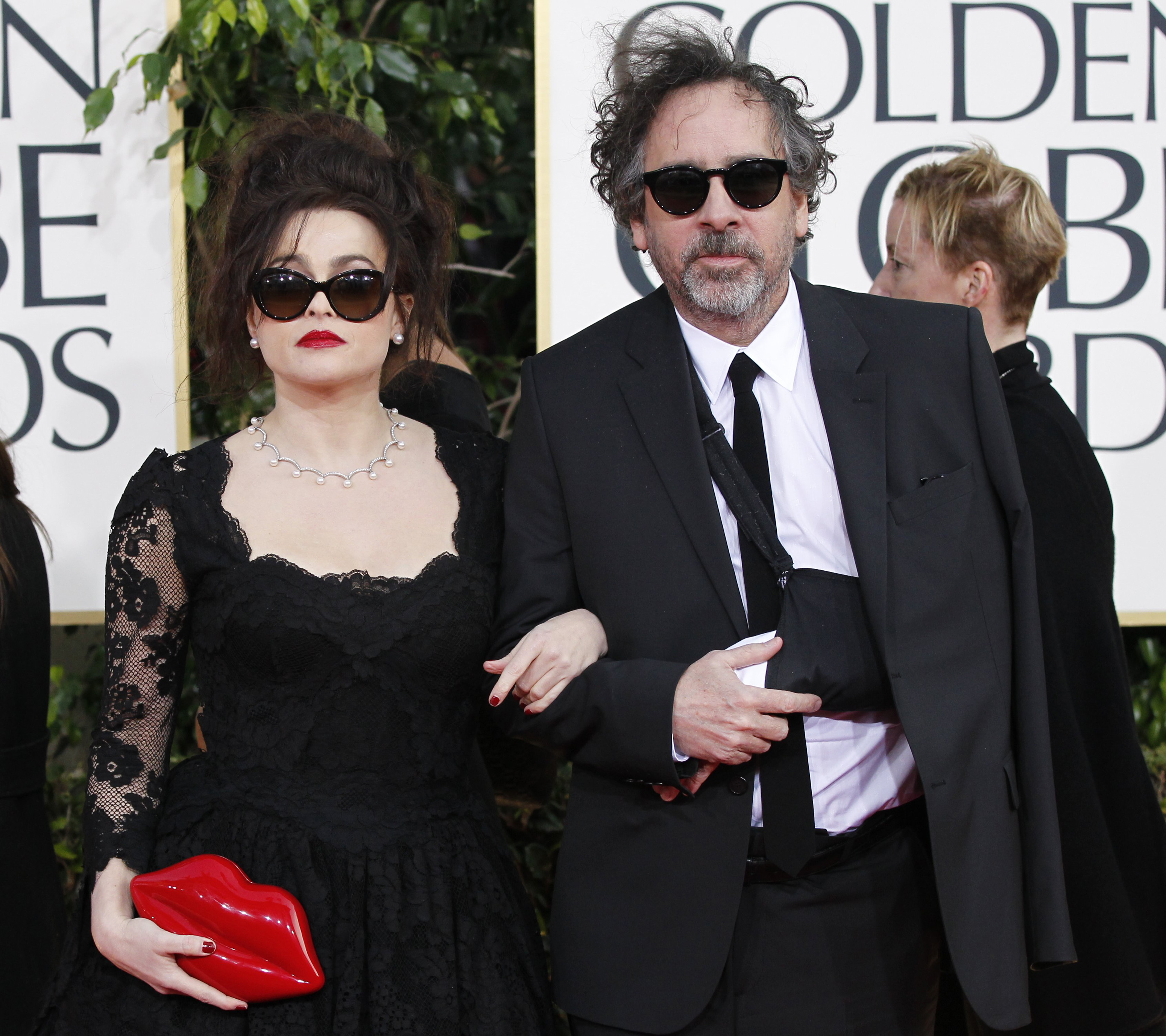 helena bonham carter tim burton split reportedly happened a year ago cheating rumors resurface. Black Bedroom Furniture Sets. Home Design Ideas