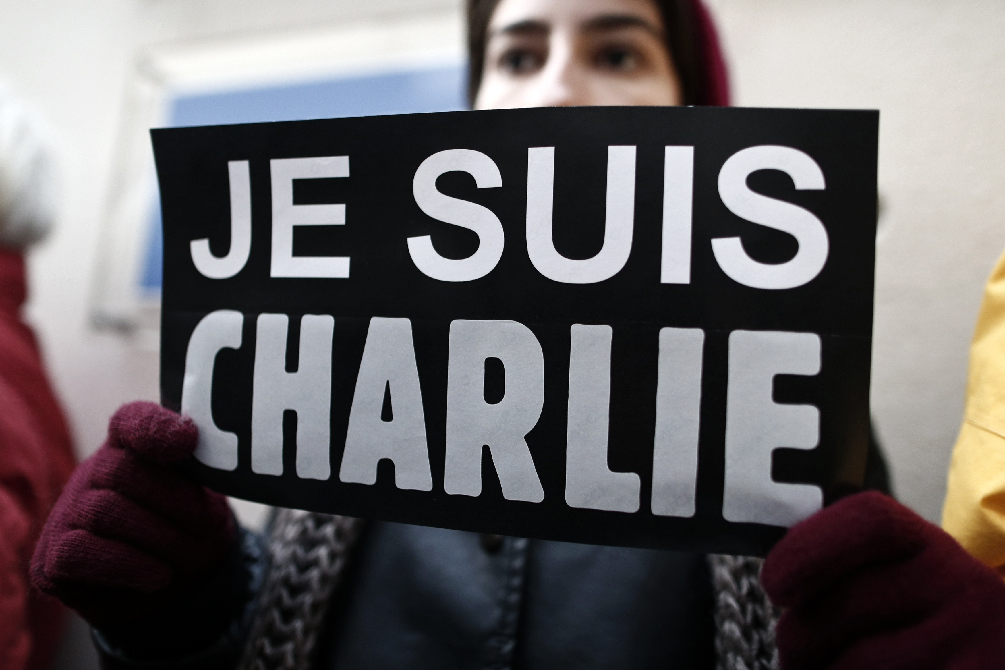 39 je suis charlie 39 rallies planned in nyc san francisco in solidarity with charlie hebdo victims. Black Bedroom Furniture Sets. Home Design Ideas