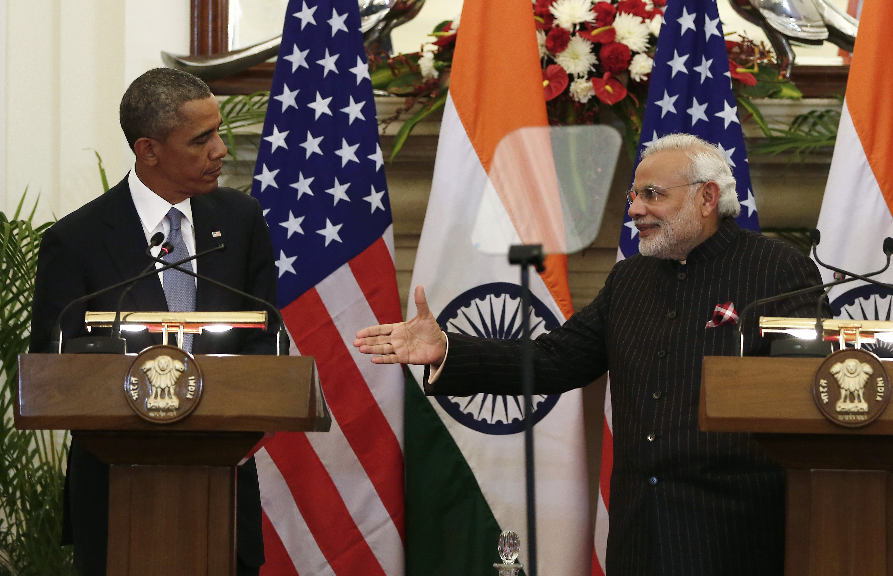 Obama's India visit could yield progress on climate change and solar power
