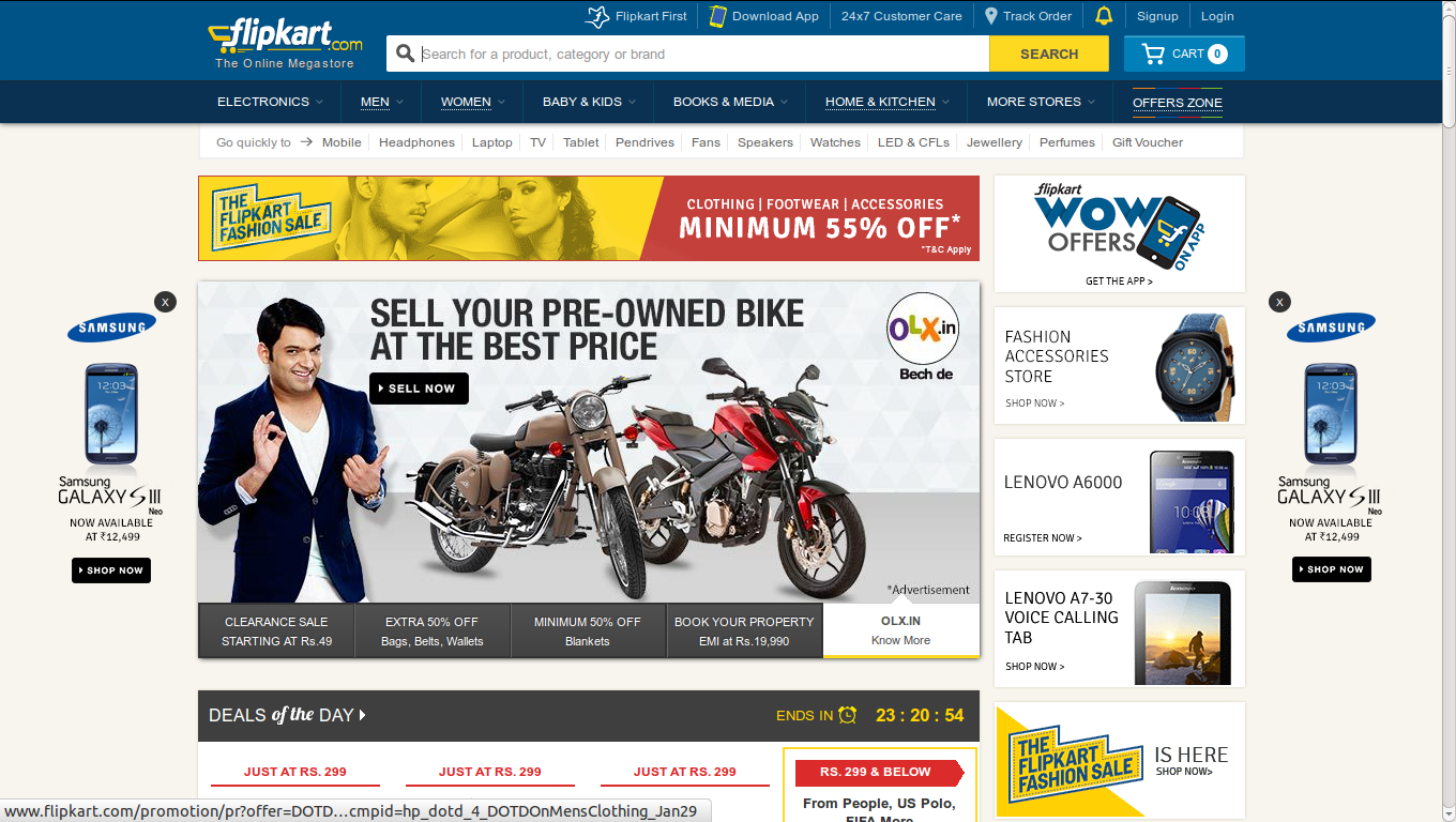 Flipkart india online shopping