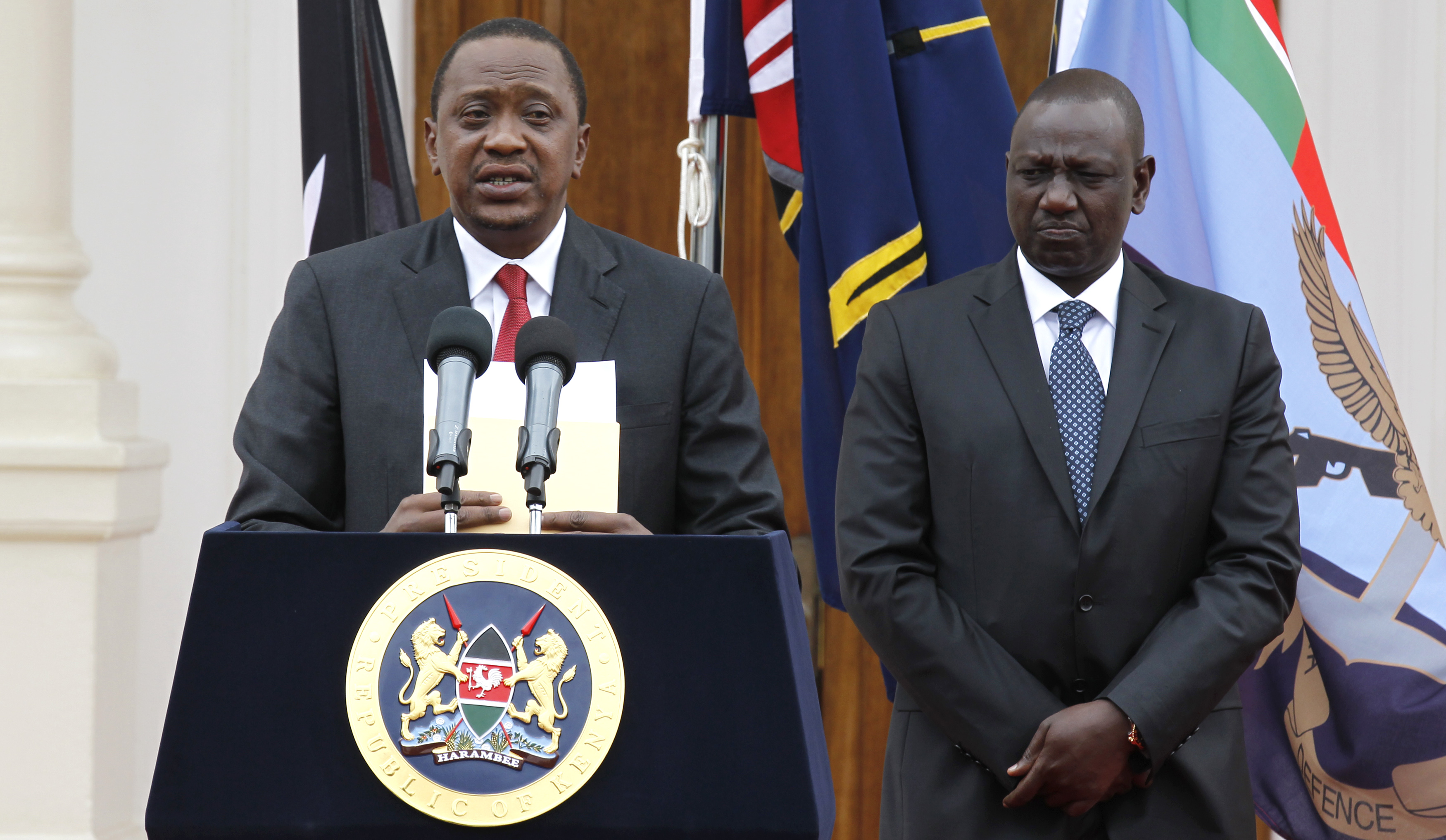 Kenyan Cabinet Secretaries Kenya Corruption Probe Government Ministers Step Down At