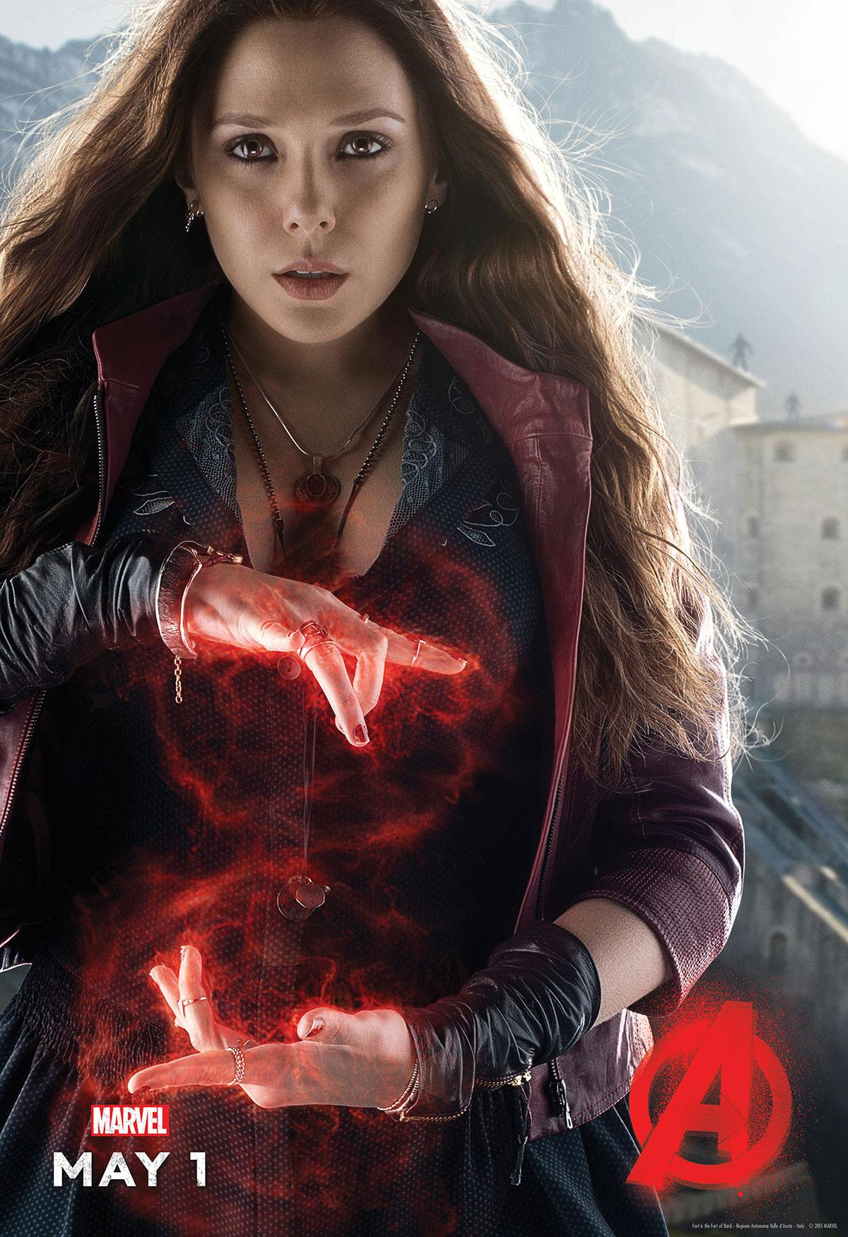 Avengers 2 spoilers 7 things to know about scarlet witch in