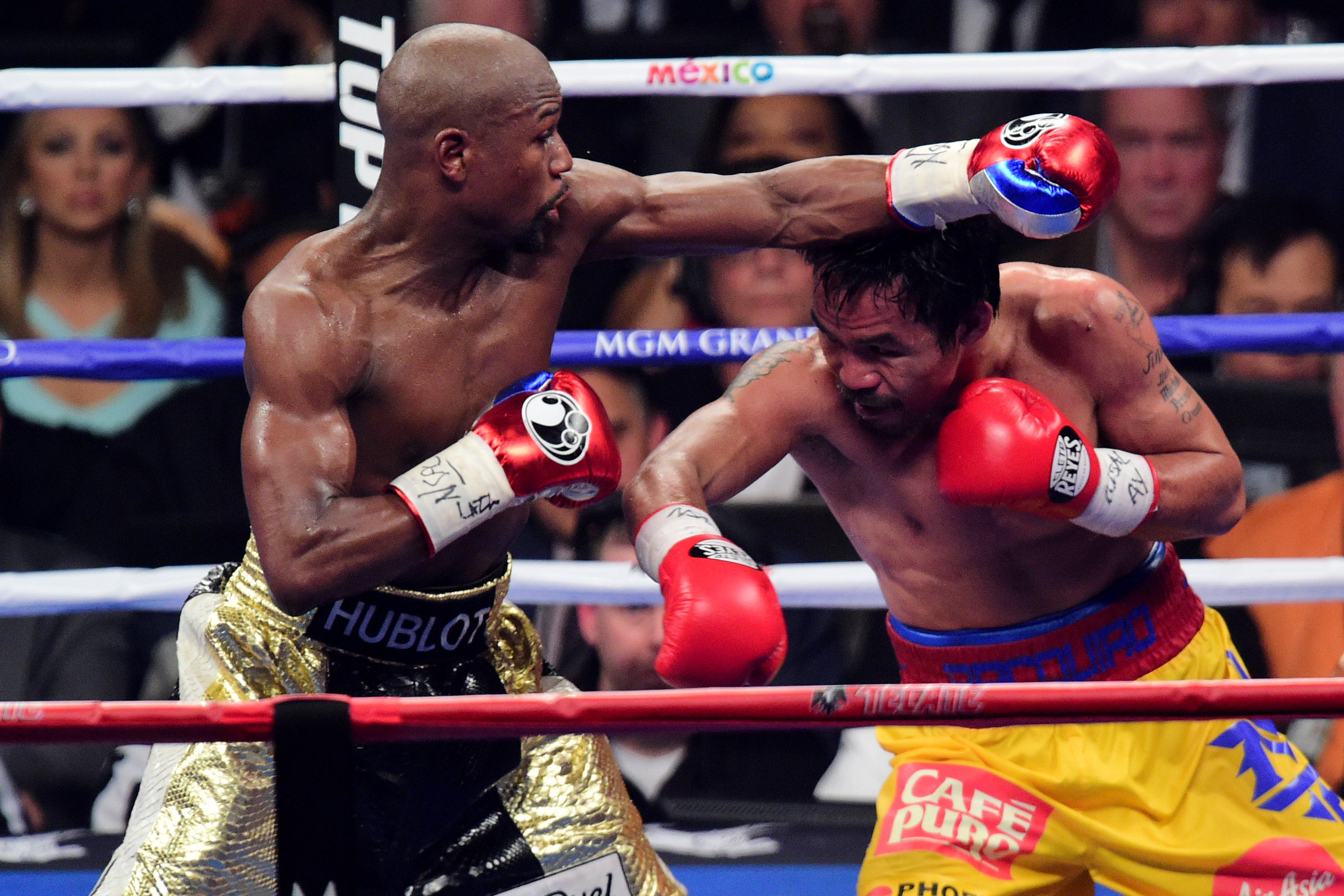 Mayweather vs pacquiao fight date in Australia