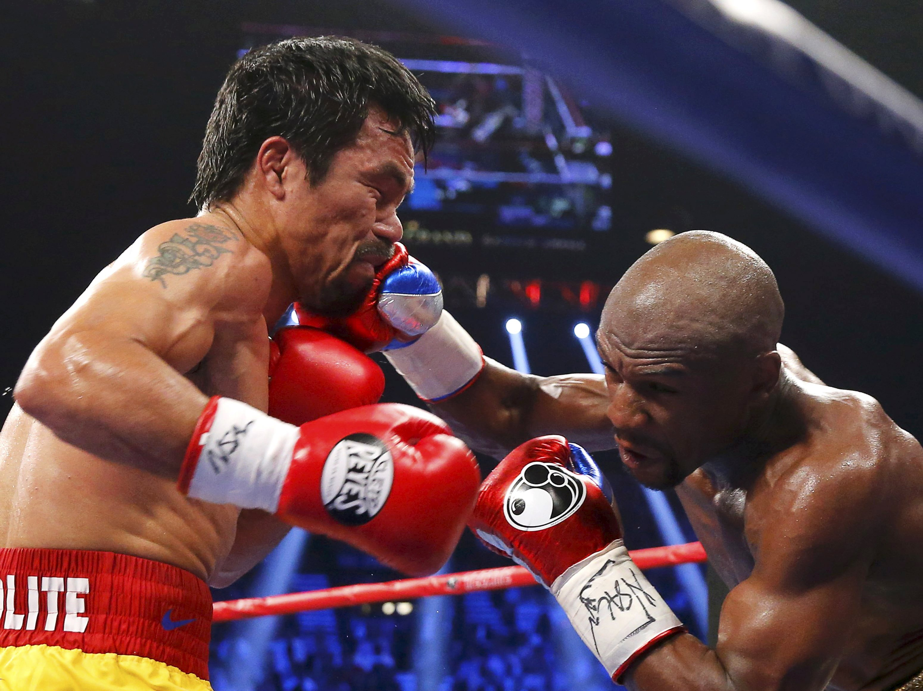 Floyd vs manny dates