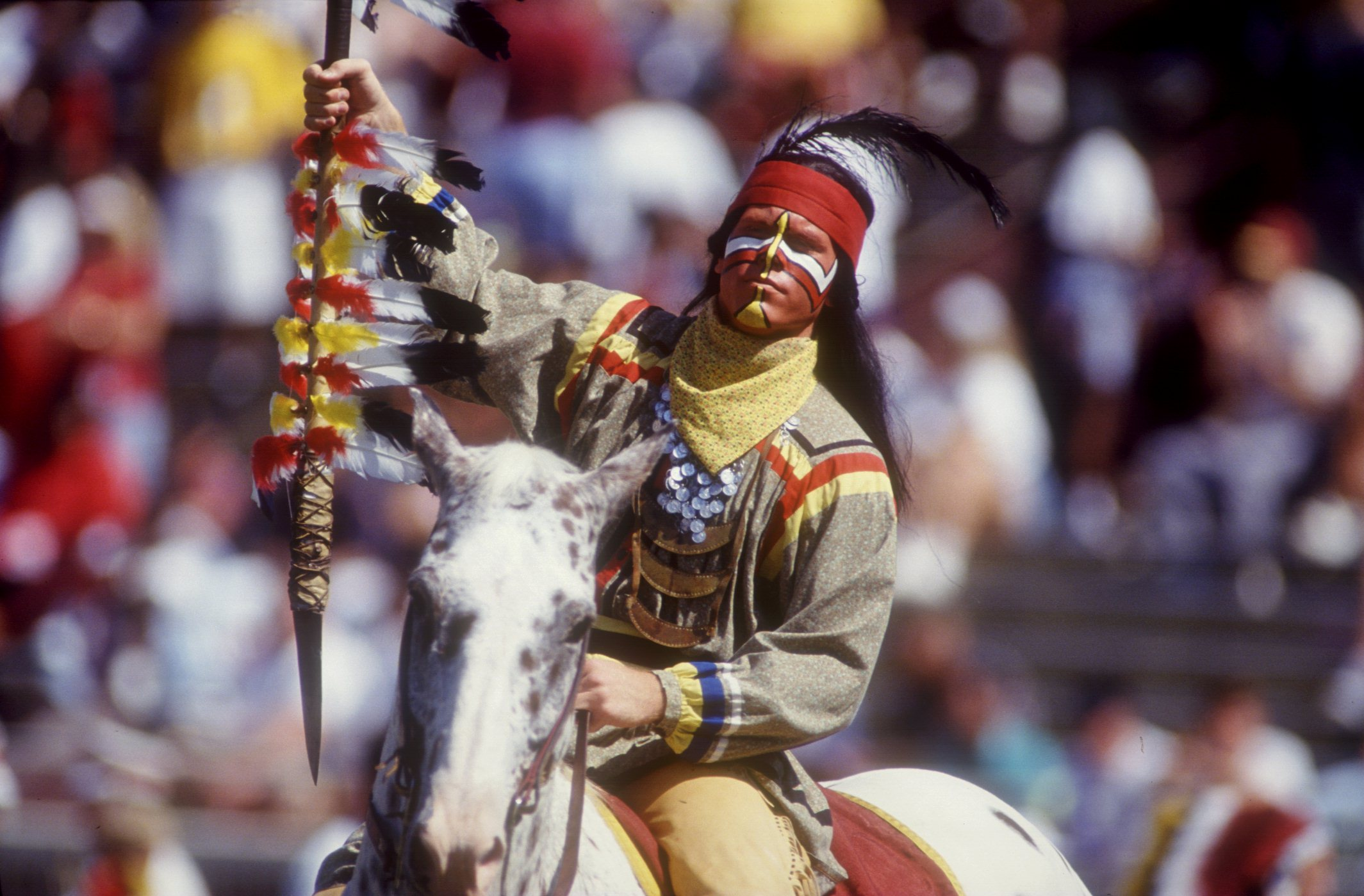 What is the battle where Indians got the name Redskins?