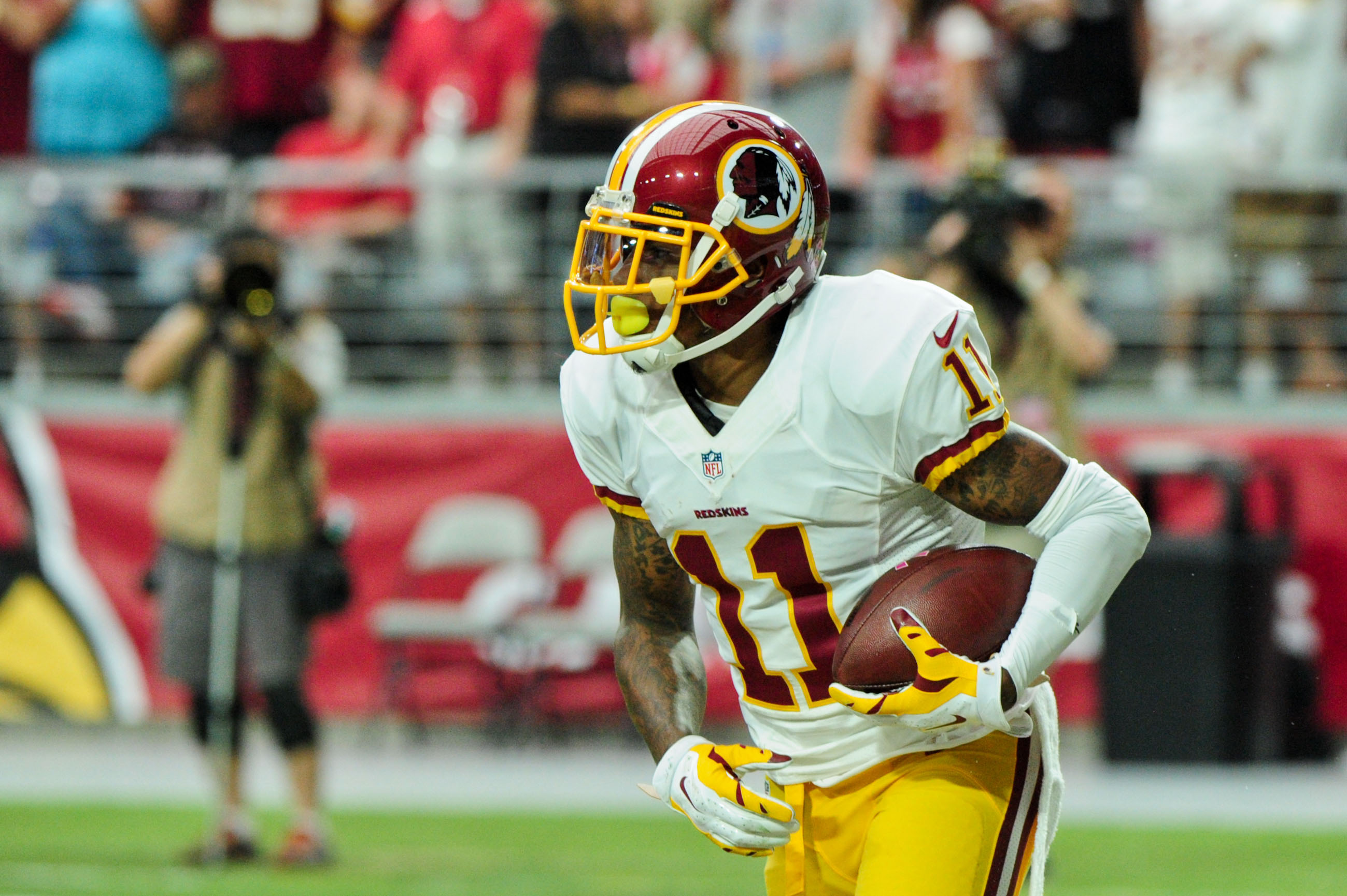 Redskins WR DeSean Jackson Suffers Separated Shoulder