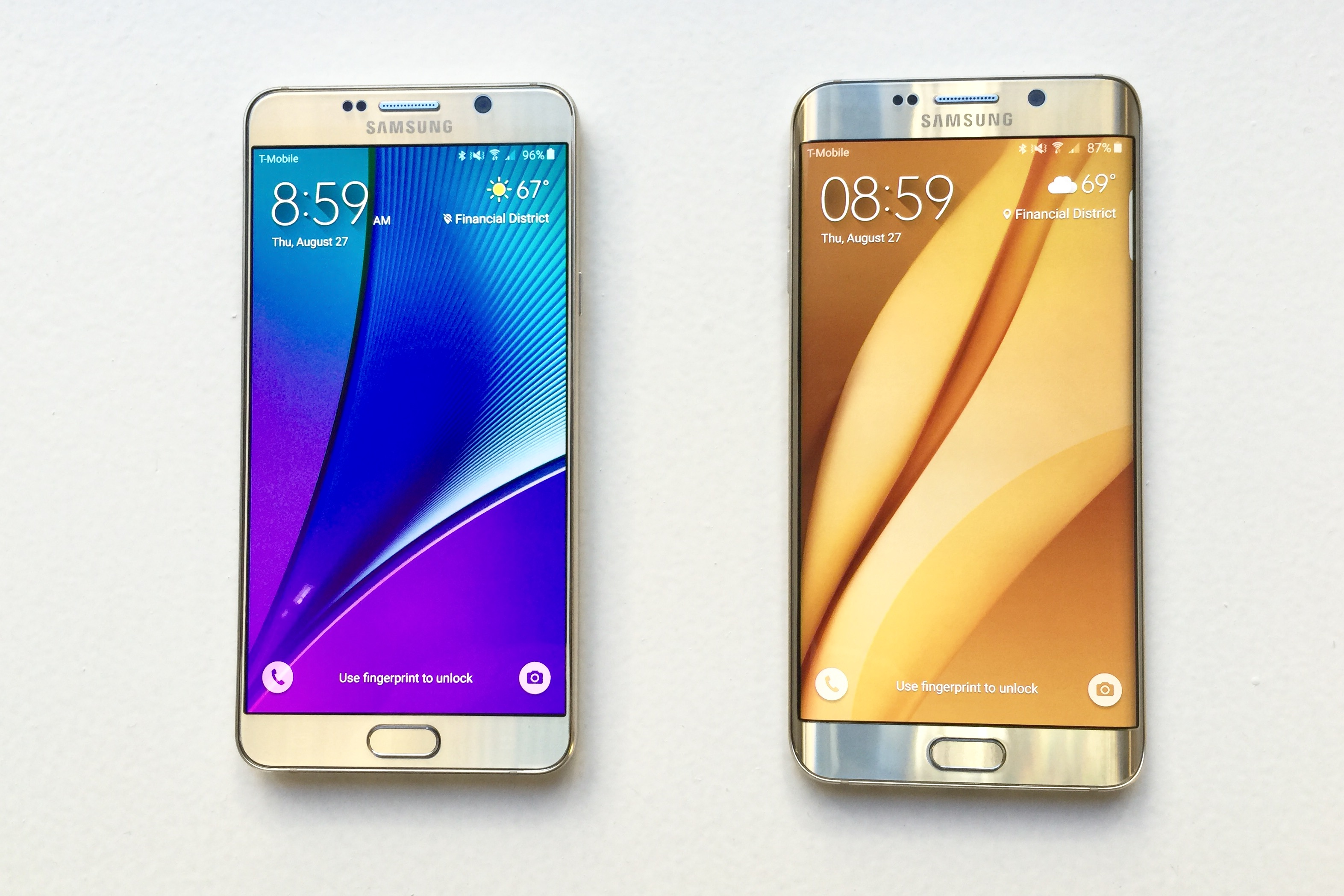Gold platinum galaxy note 5 now available from t mobile android - Galaxy Note 5 Vs Galaxy S6 Edge Plus Review Do You Choose Stylus Or Curved Display