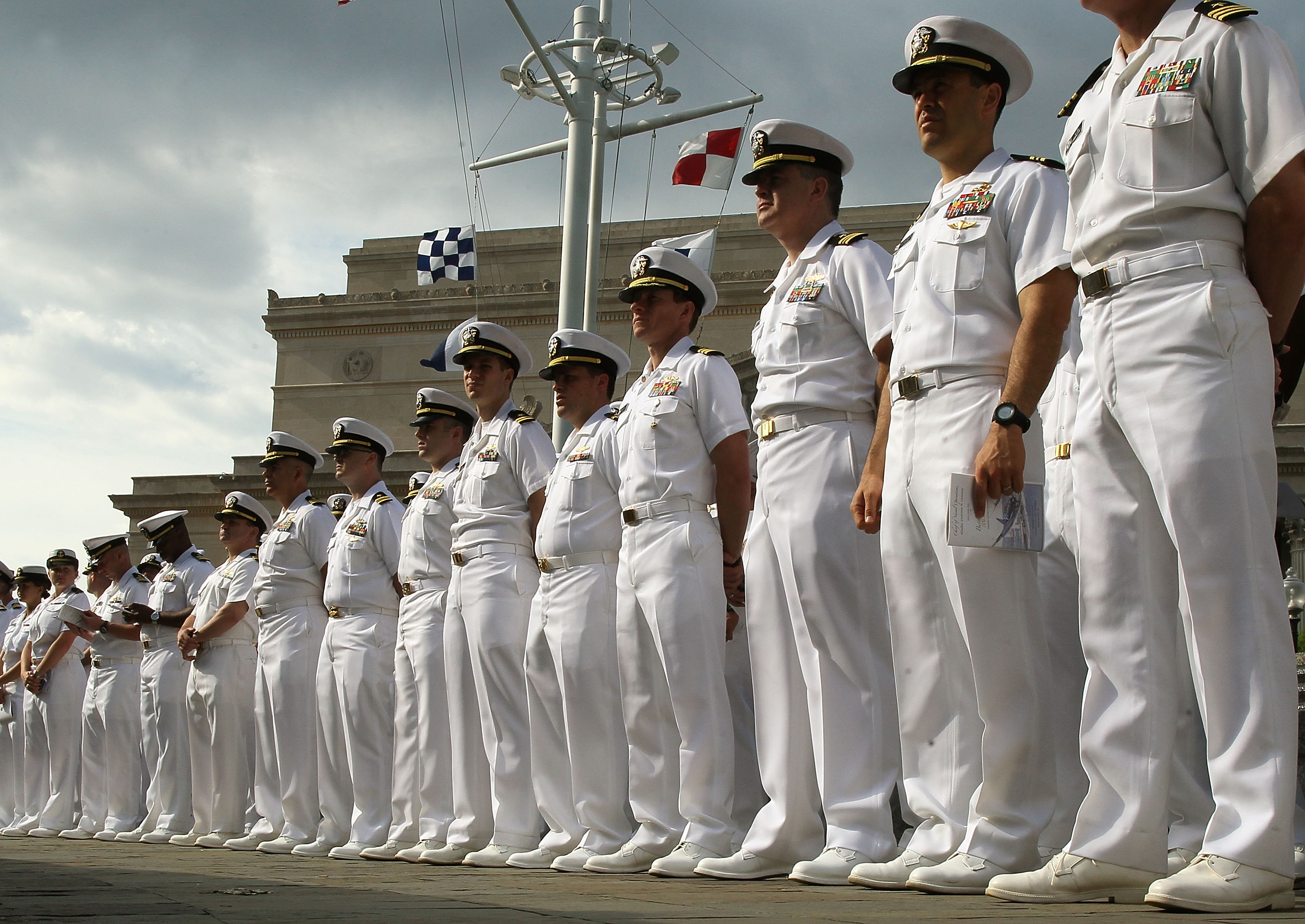 New Navy Uniforms Unveiled With Fewer Coveralls: Updated