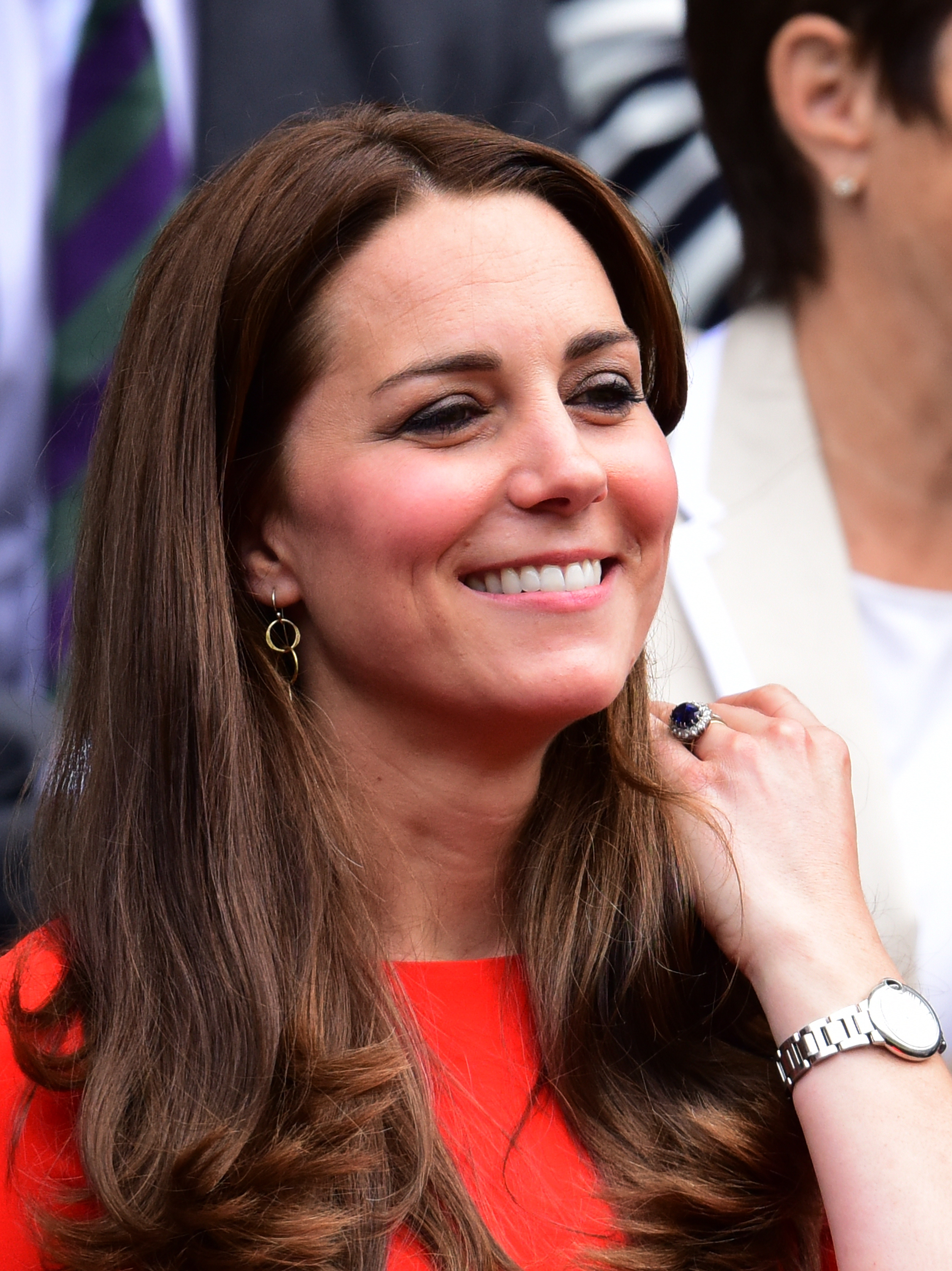 Kate Middleton Makes Drastic Hair Change, Photographed With Bangs