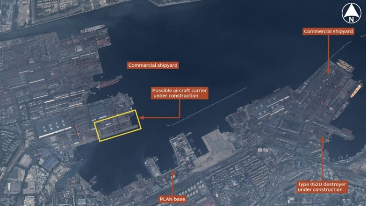 China's First Indigenous Aircraft Carrier May Be Under ...