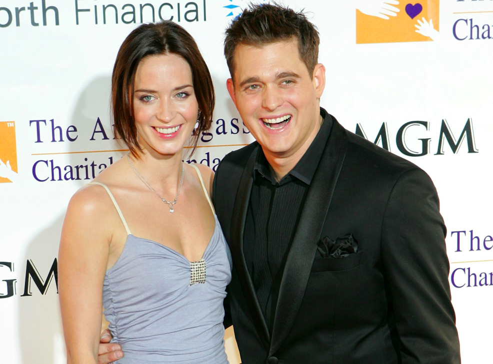 Did michael buble dating david foster daughter 9