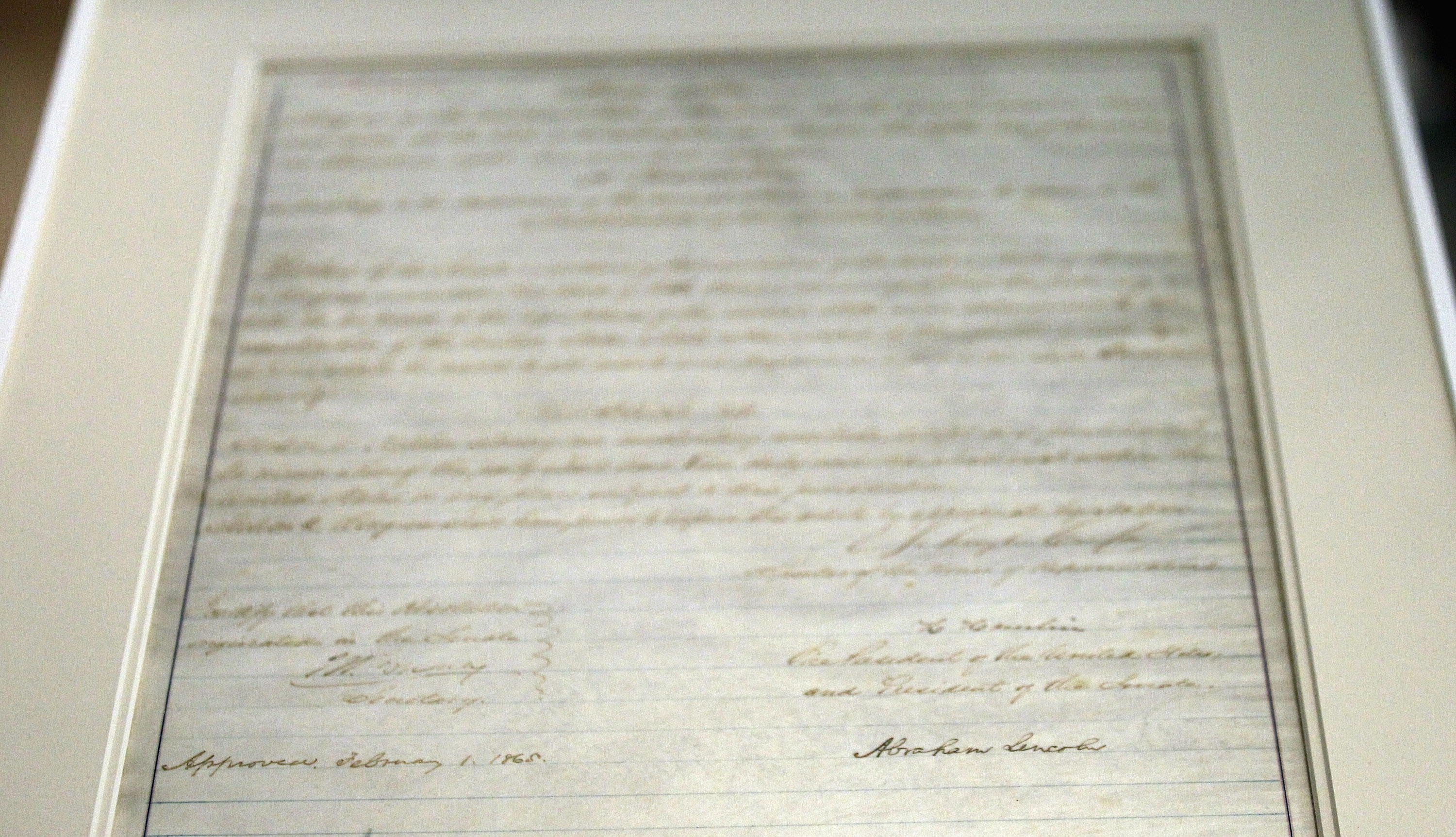 New Trans Am >> 13th Amendment To The US Constitution Full Text: Slavery Ban's 150th Anniversary To Be Marked By ...