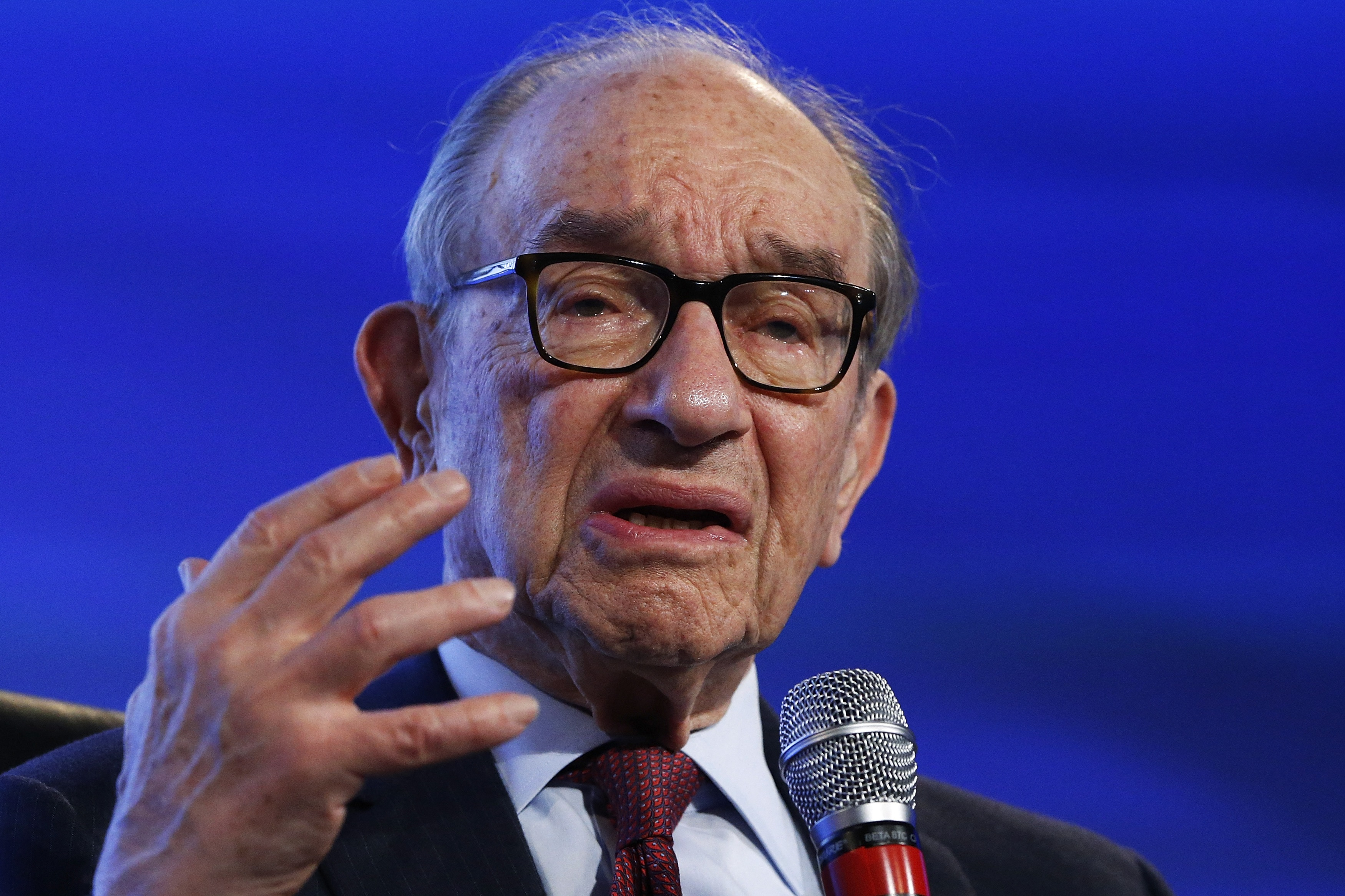 Greenspan: Slowing Economy Won't Grow at 3 Percent Rate