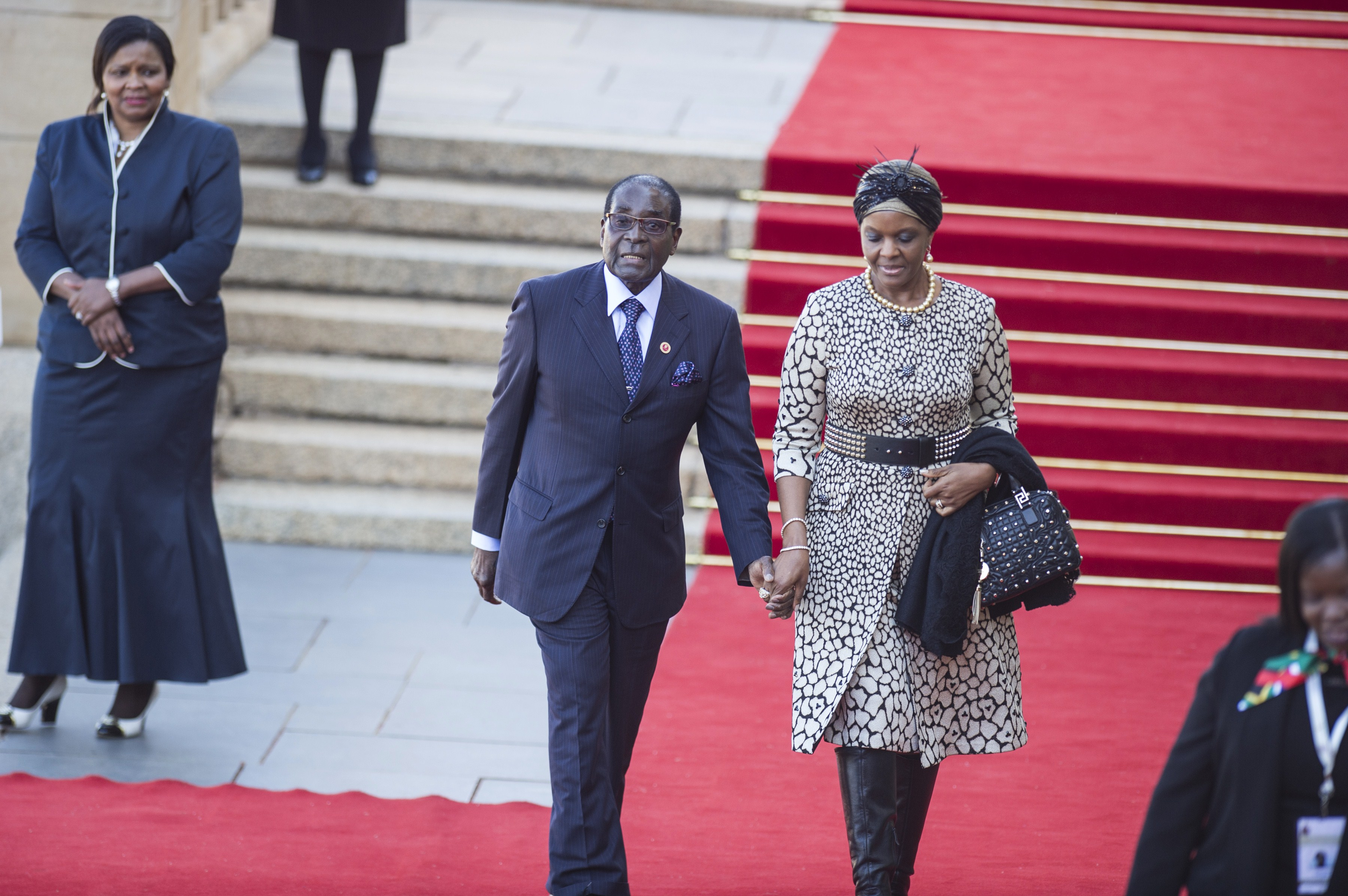 Zimbabwe 39 S President Robert Mugabe 39 Replaced 39 By Wife Grace Mugabe In 39 Palace Coup 39 Opposition