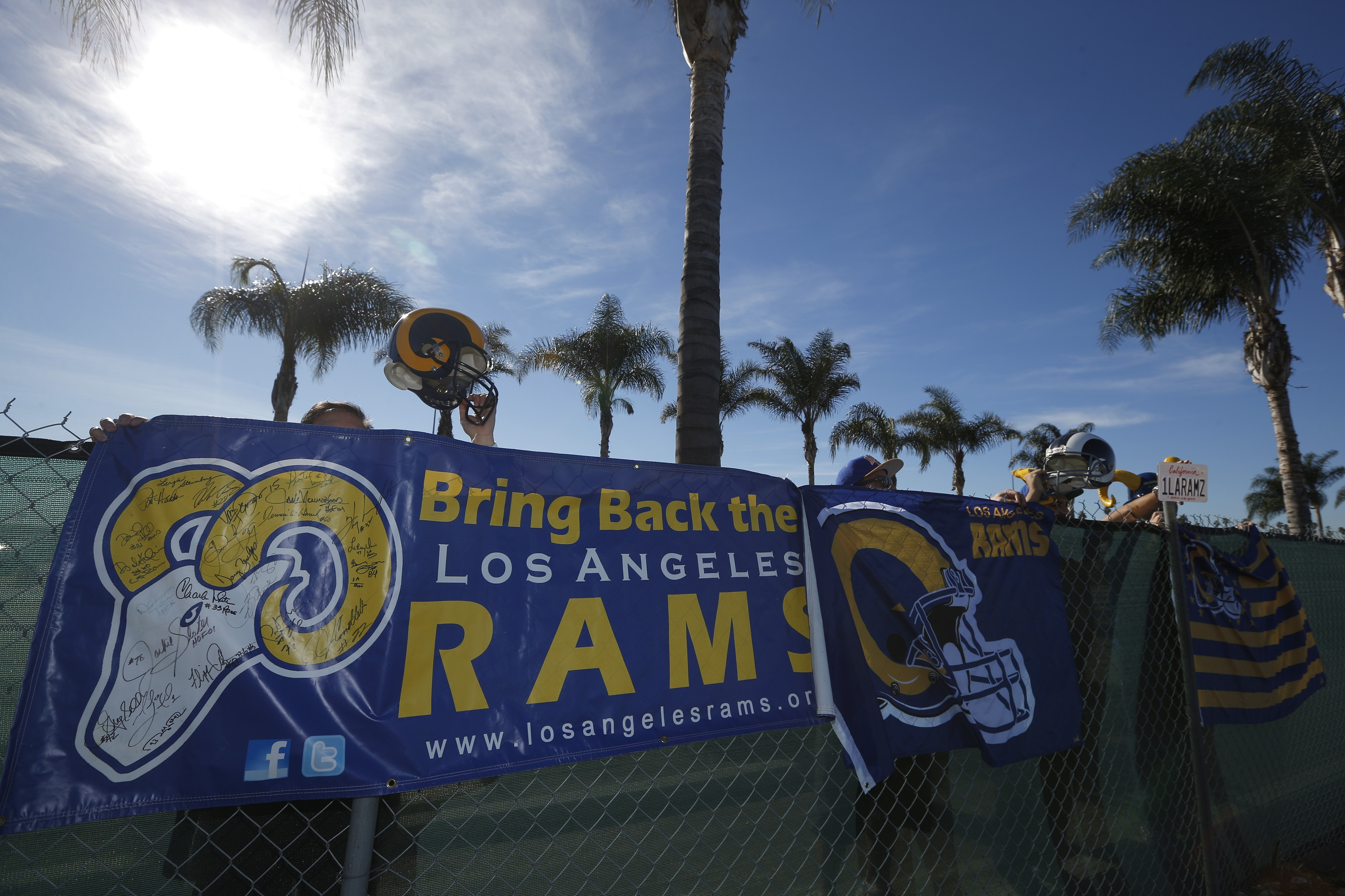 Nfl Los Angeles Rams Return And New Stadium Could Provide
