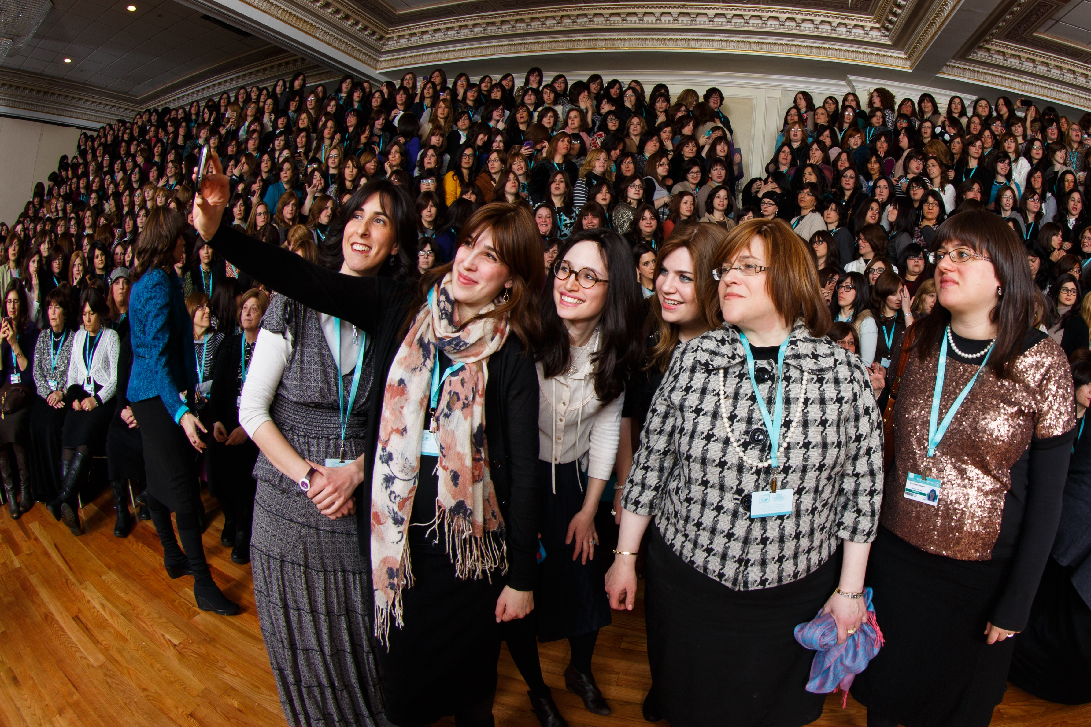 Thousands Of Jewish Women Gather For Hasidic Conference In