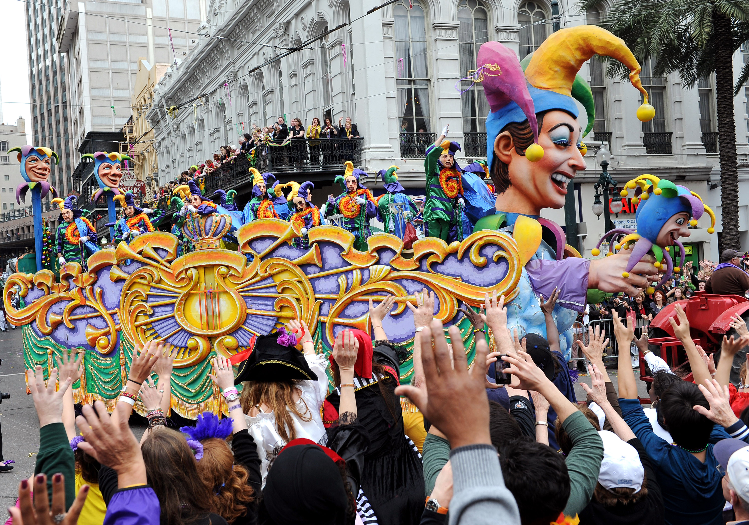 Mardi gras facts 2016 interesting trivia and traditions for Columbia craft show 2017