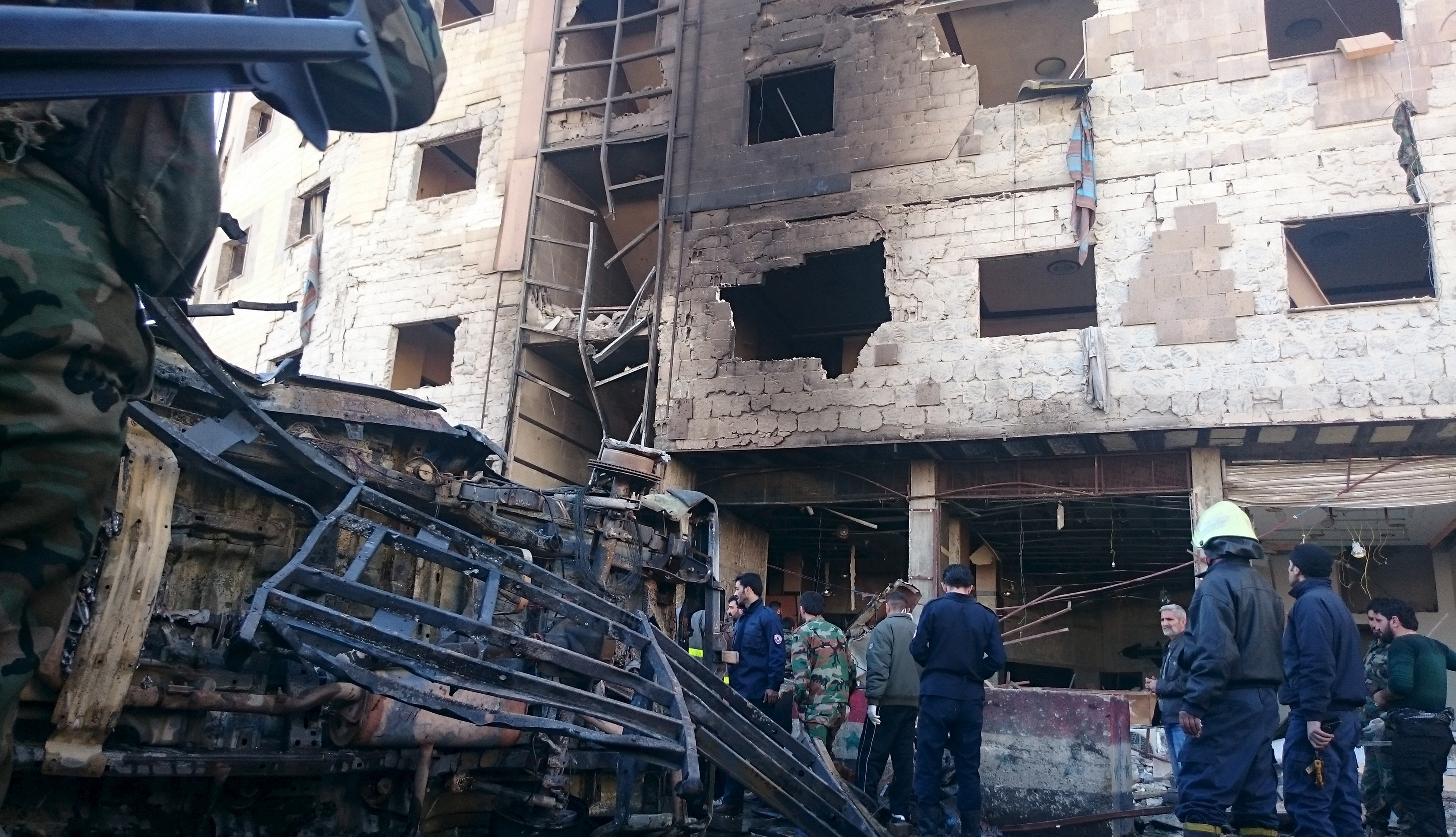 isis claims deadly car bomb in syrian capital damascus. Black Bedroom Furniture Sets. Home Design Ideas