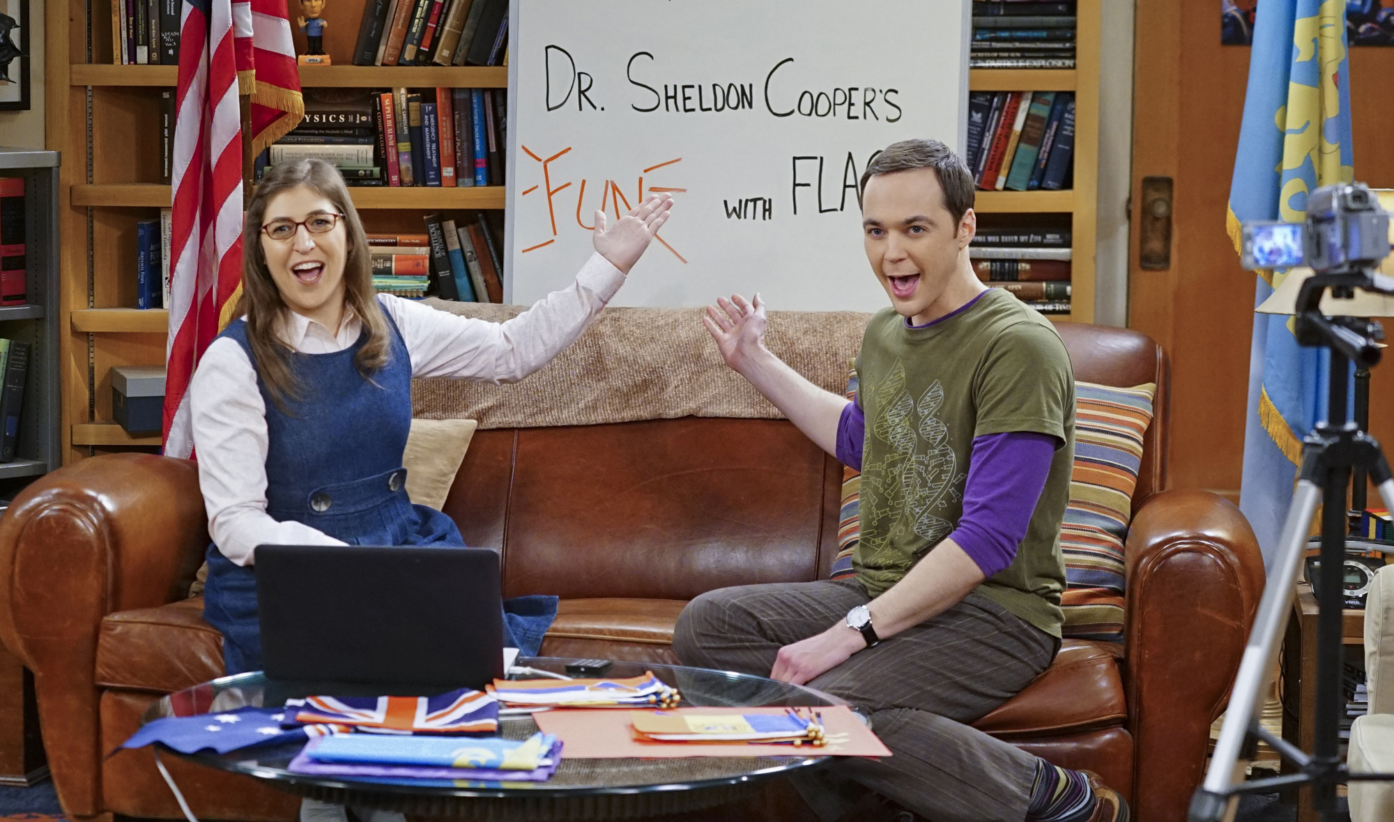 relationship test from the big bang theory
