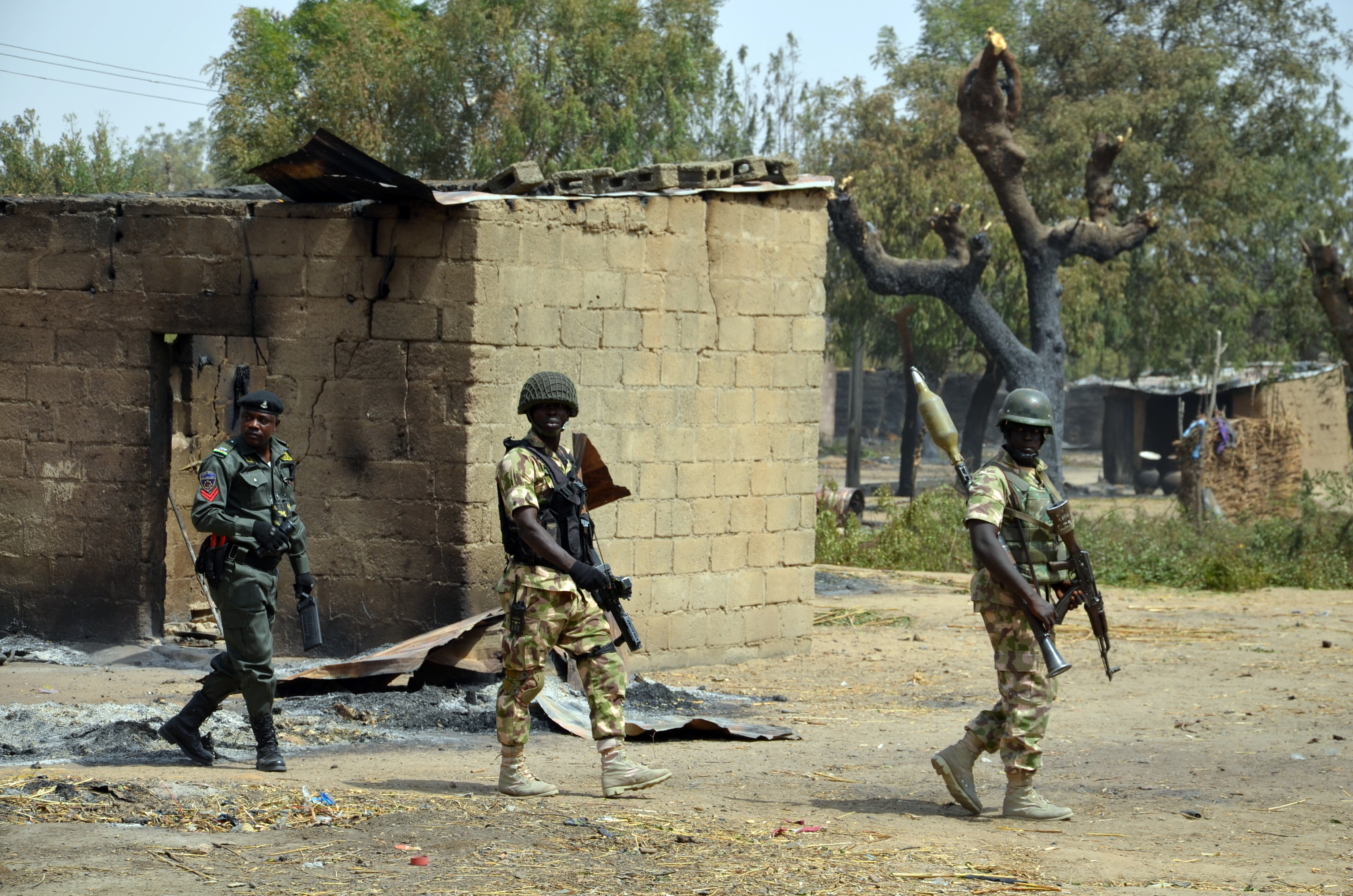 Brave Nigerian Soldier Killed While Fighting Boko Haram In
