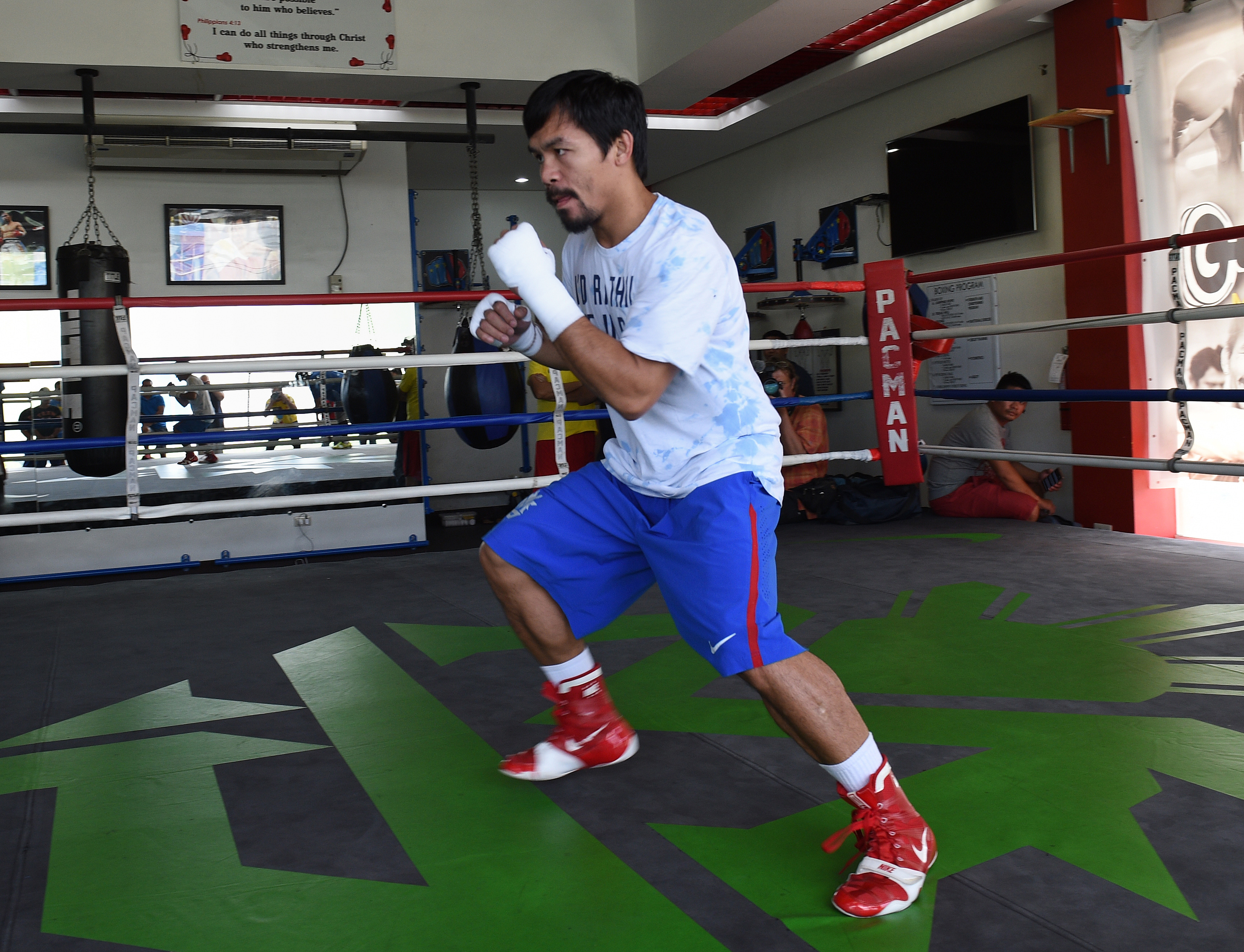 Manny Pacquiao Nike Shoes Philippines