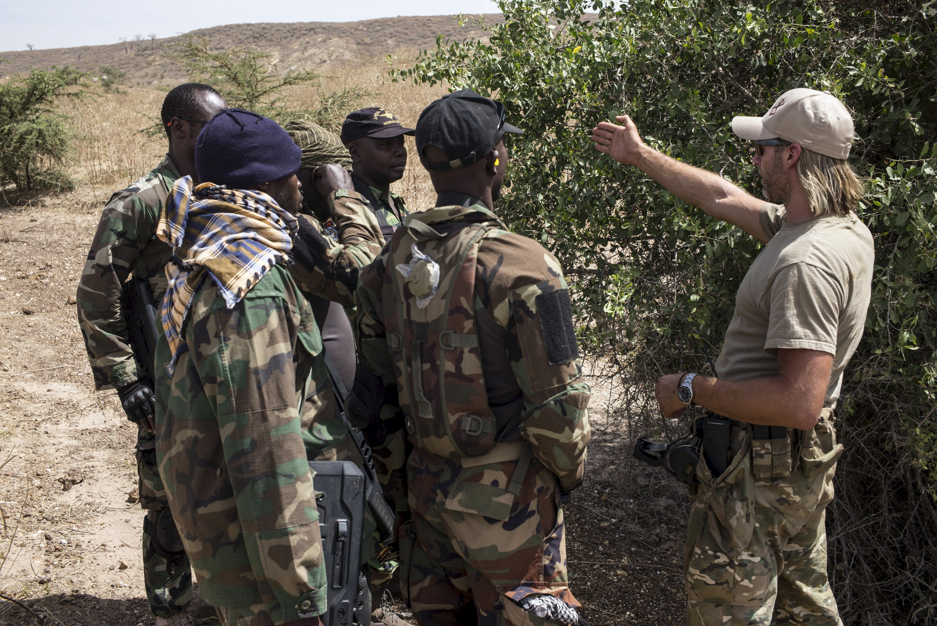 Nigeria News: US Military To Boko Haram Front Line ...  Nigerian Army Special Forces