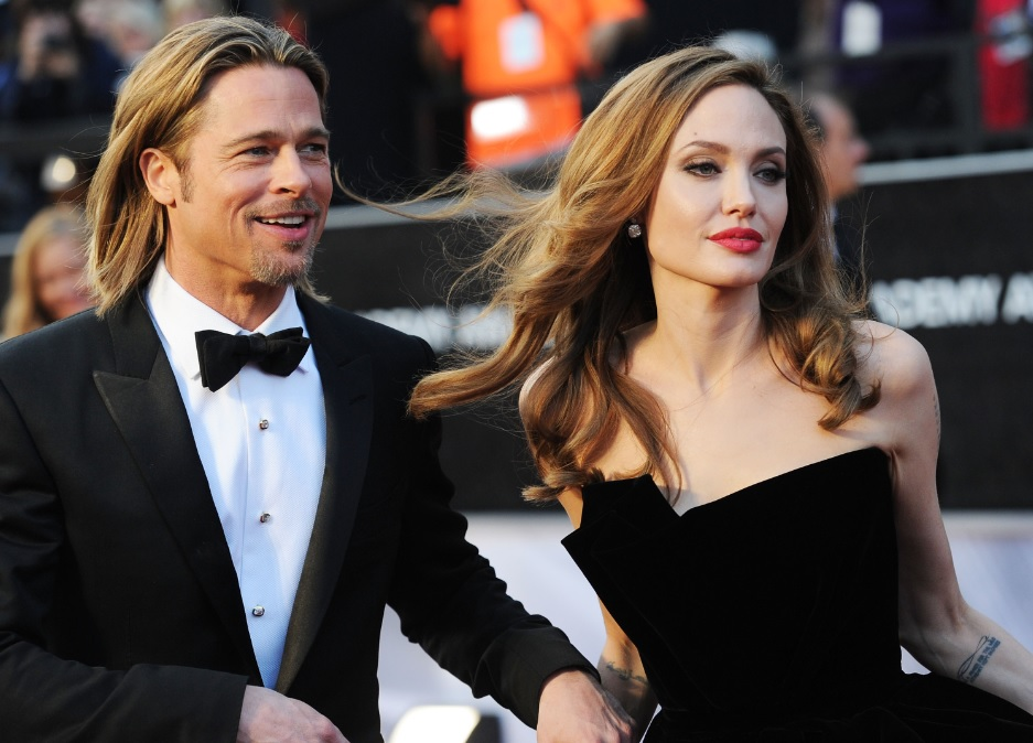 how did brad pitt and angelina jolie started dating