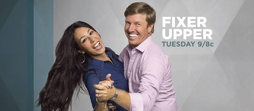 fixer upper star joanna gaines shares season 4 set photo from hgtv series. Black Bedroom Furniture Sets. Home Design Ideas