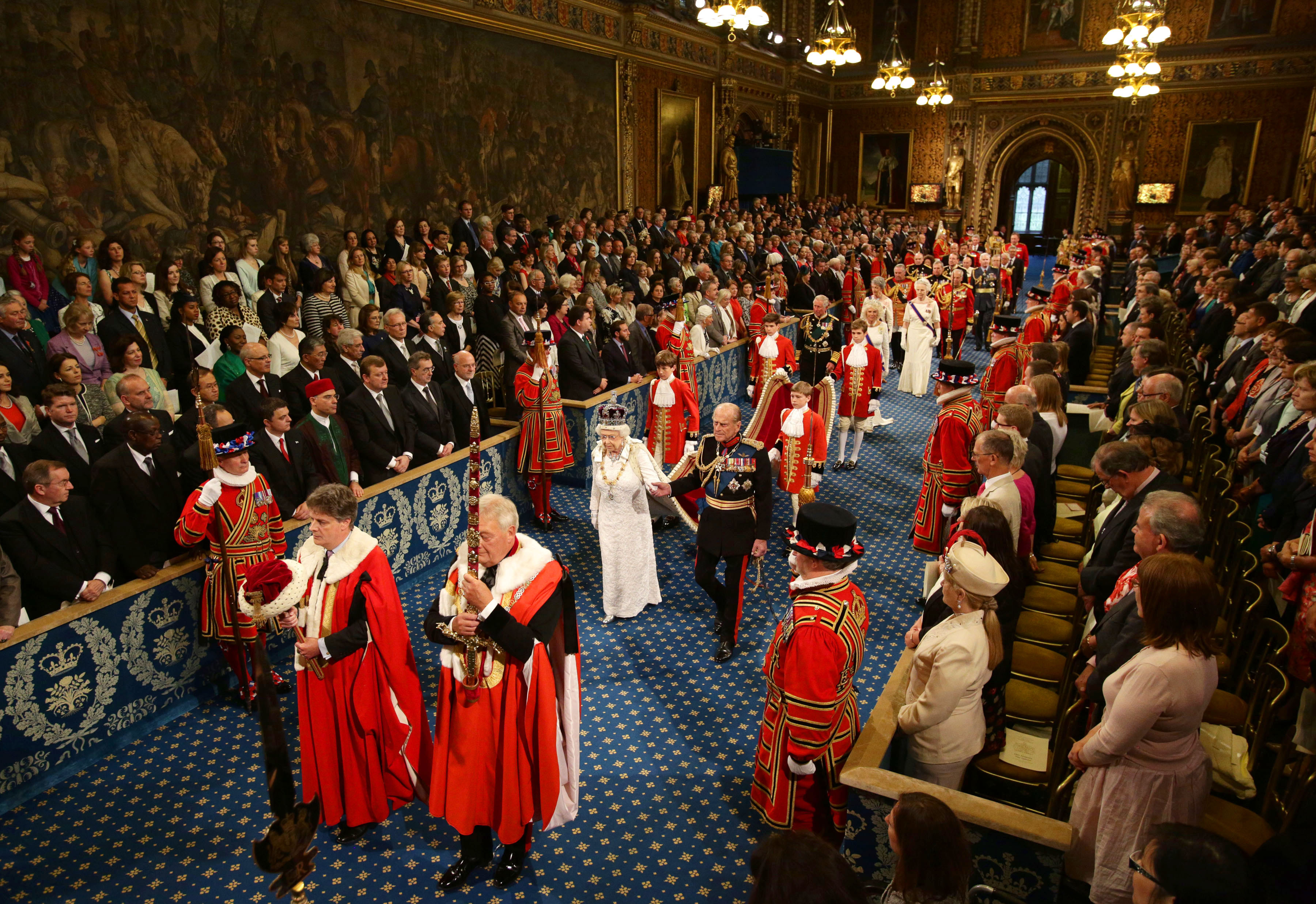 Queen's Speech Live Stream 2016: How To Watch The State Opening Of Parliament