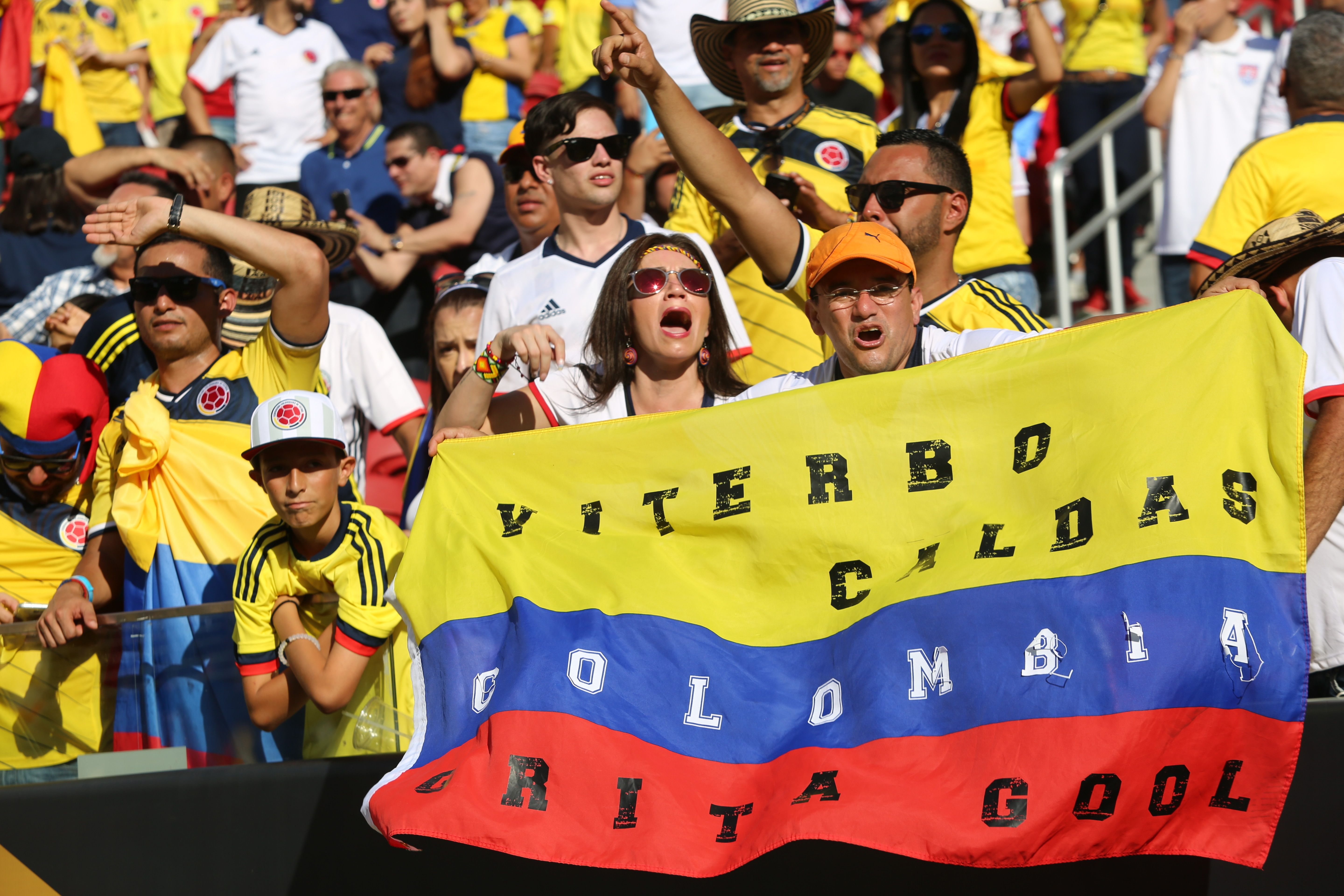Pictures: Fans at Copa America match | Metro UK