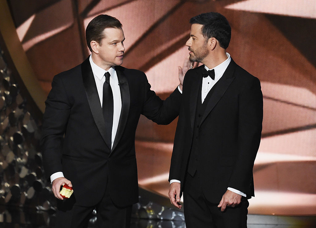 Jimmy Kimmel, Matt Damon Feud: A History Of Their Fight ...