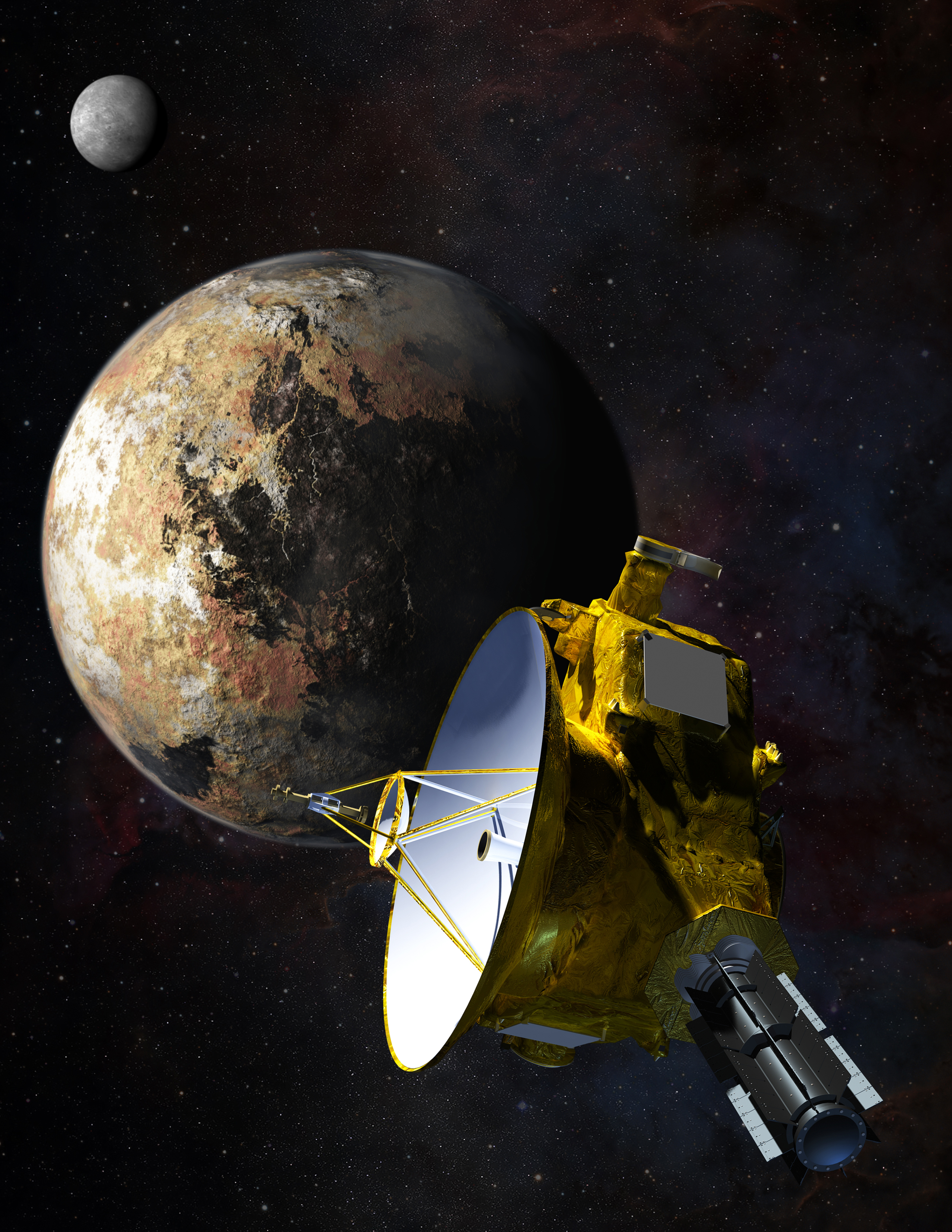flyby spacecraft and pluto - photo #8