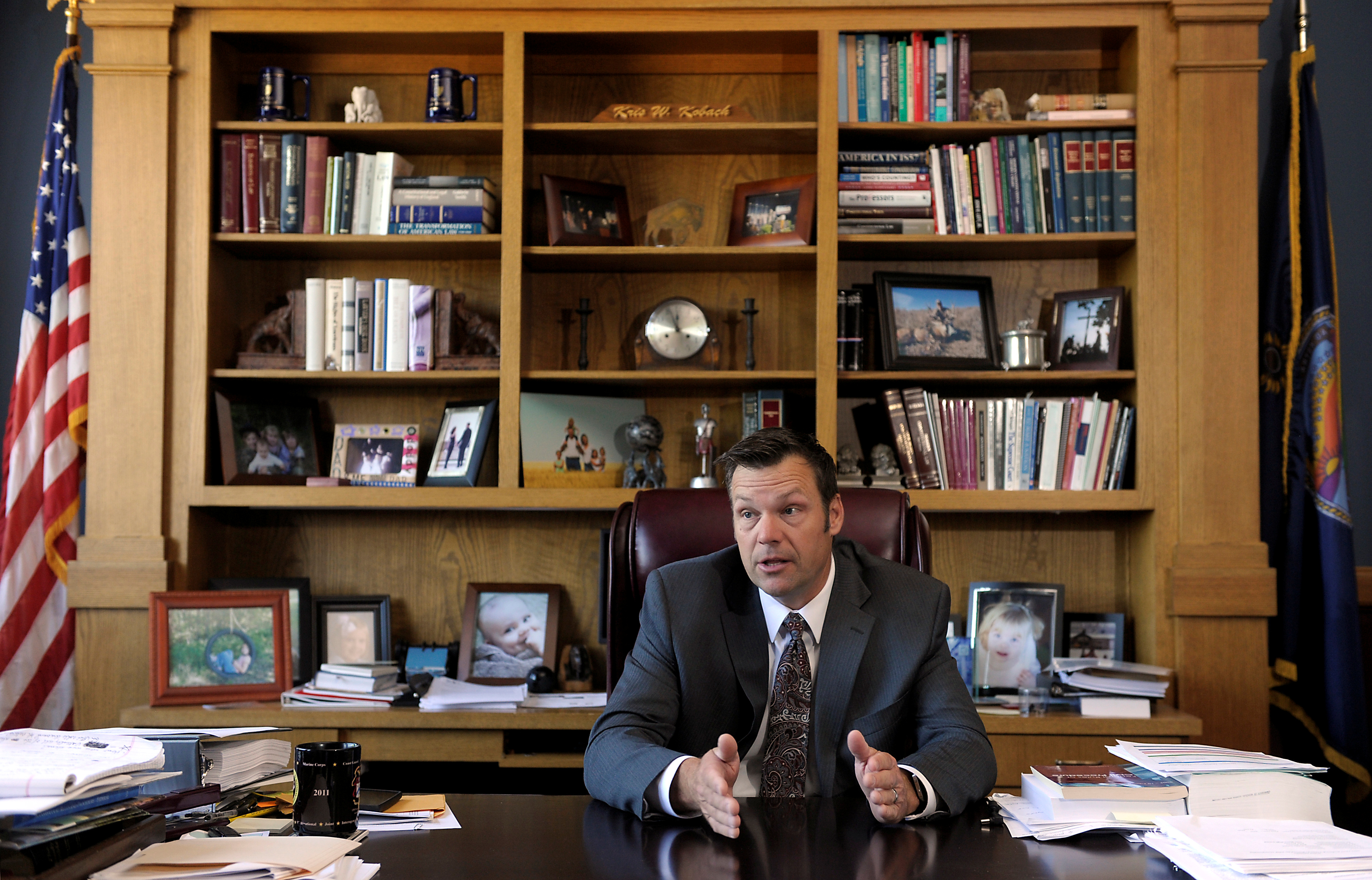 donald trump u0026 39 s cabinet  kris kobach  possible attorney