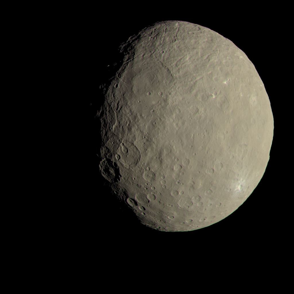 Organic Materials On Ceres: Life's Building Blocks Discovered On Frigid Dwarf Planet