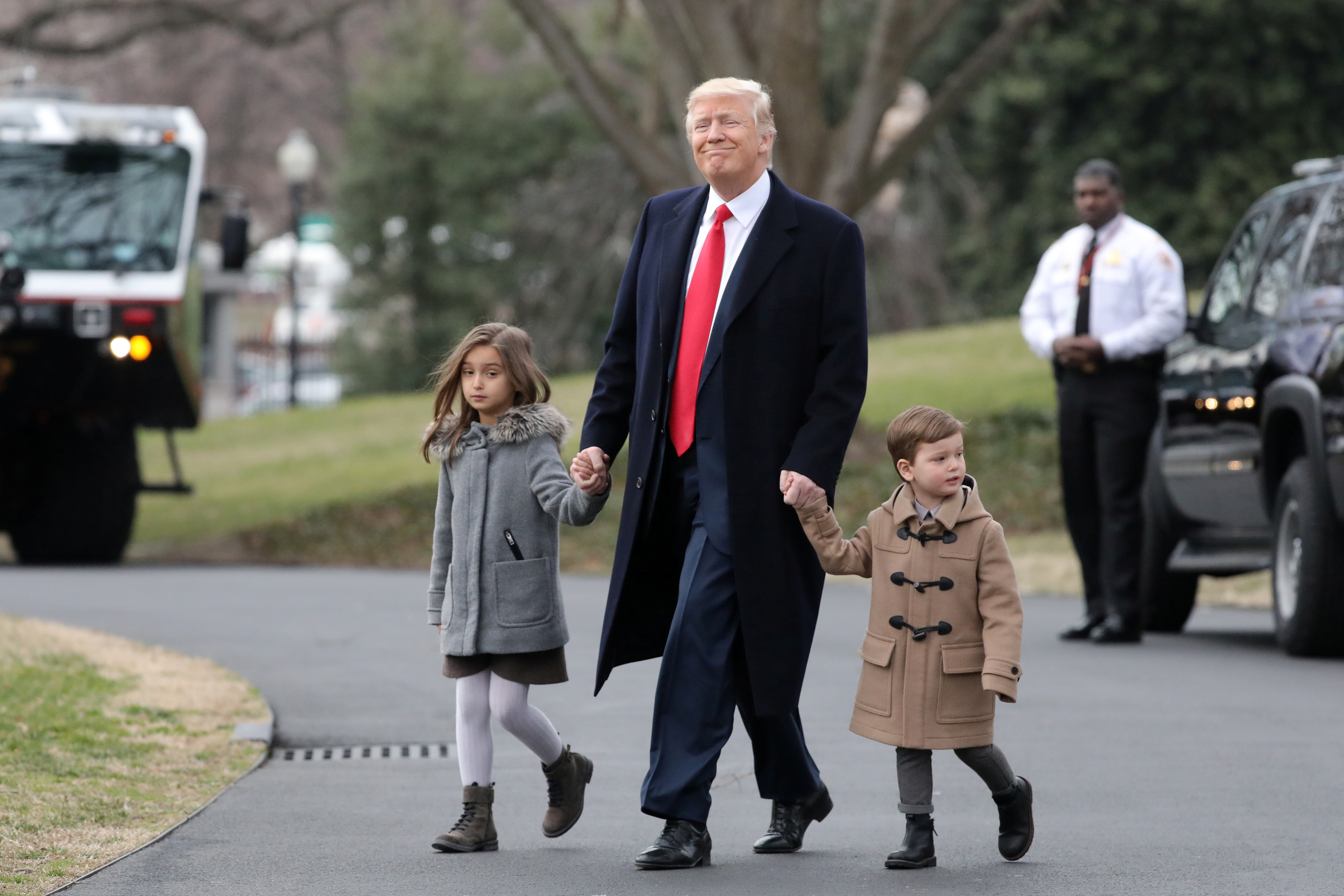 Trump Family Vacation President S Grandson Tristan Breaks