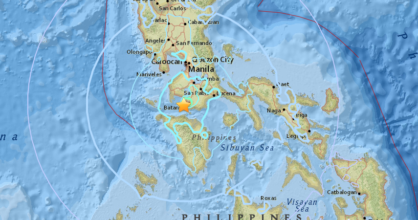 latest business report philippines earthquake