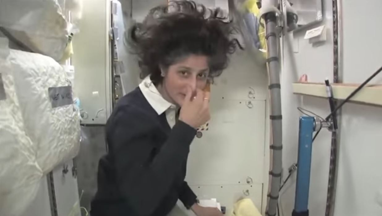 NASA Astronaut Worries About Pooping In Space On The ISS