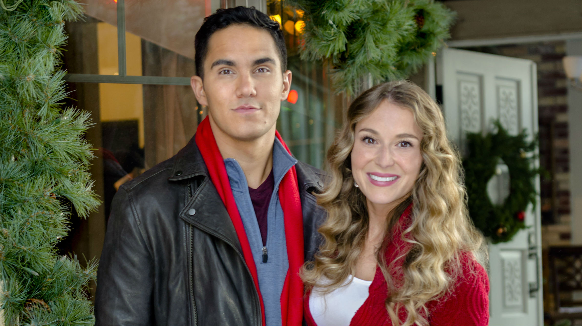 hallmark channel�s �enchanted christmas� premiere meet