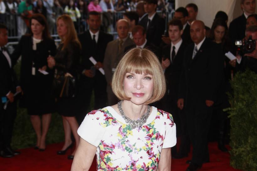 Anna Wintour at the 2013 Met Gala