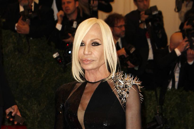 Donatella Versace at the 2013 Met Gala.